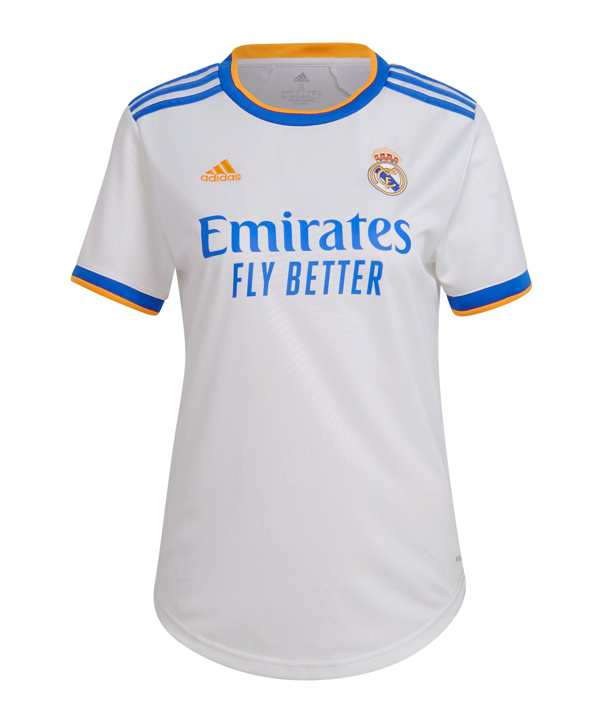 adidas Real Madrid Trikot Home 2021/2022 Damen Weiss - weiss