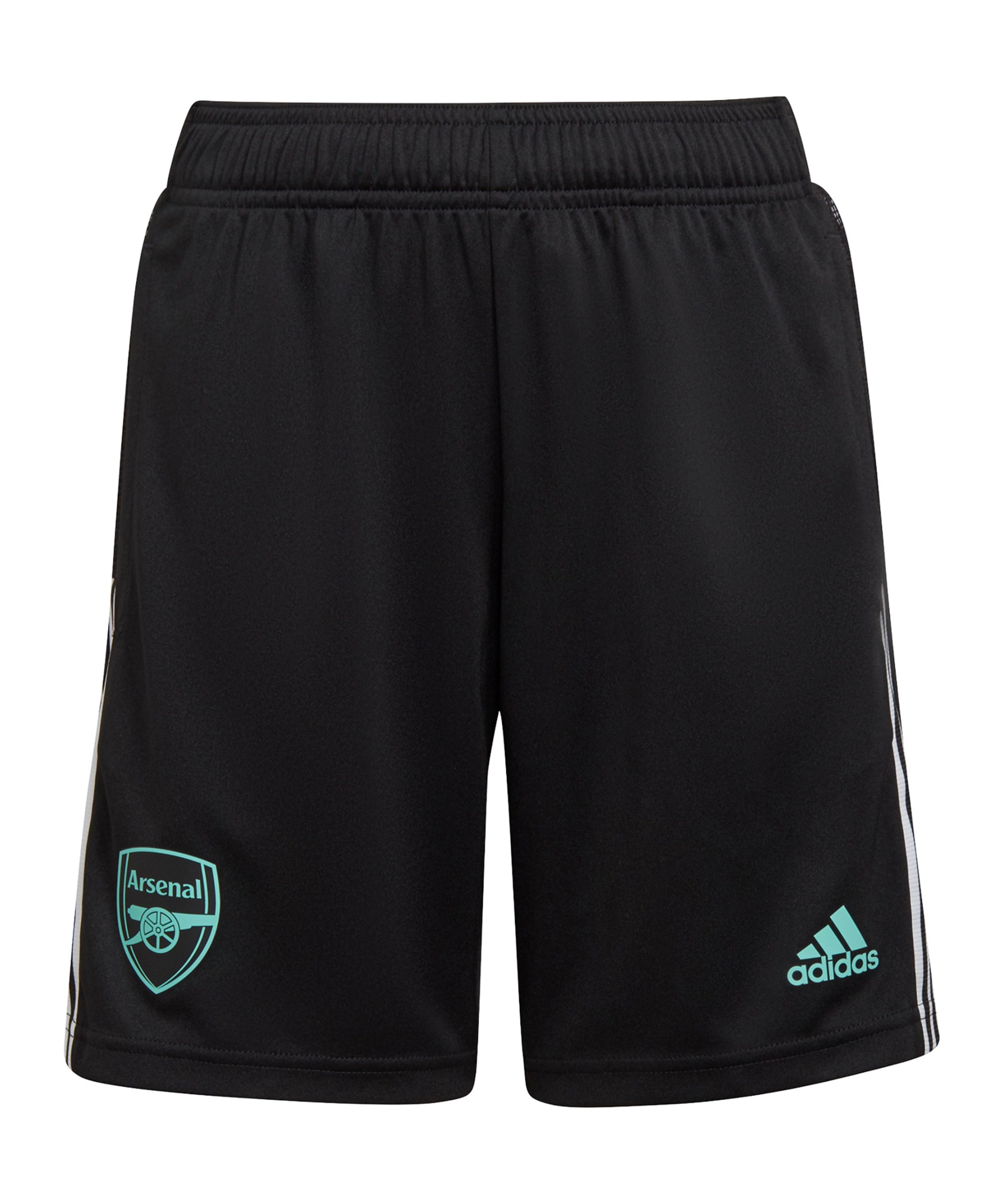 adidas FC Arsenal London Trainingsshort Kids Schwarz - schwarz