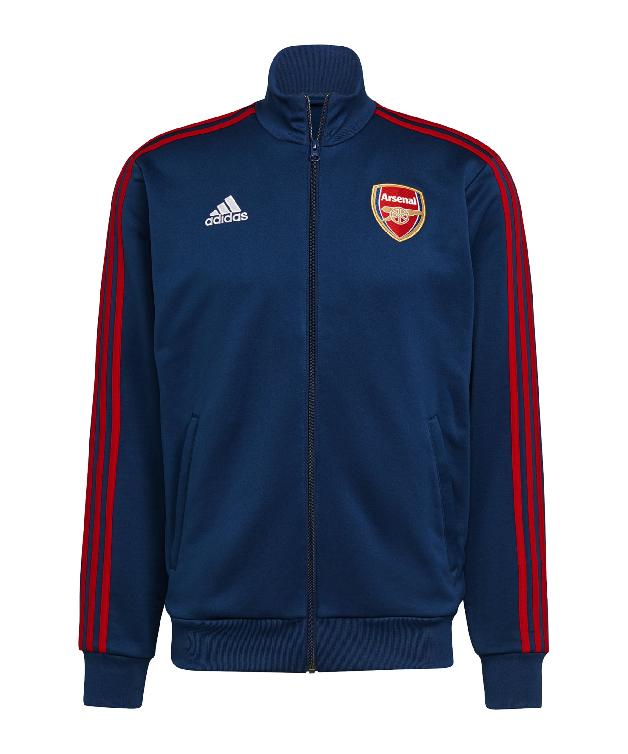 adidas FC Arsenal London 3S Tracktop Jacke Blau - blau