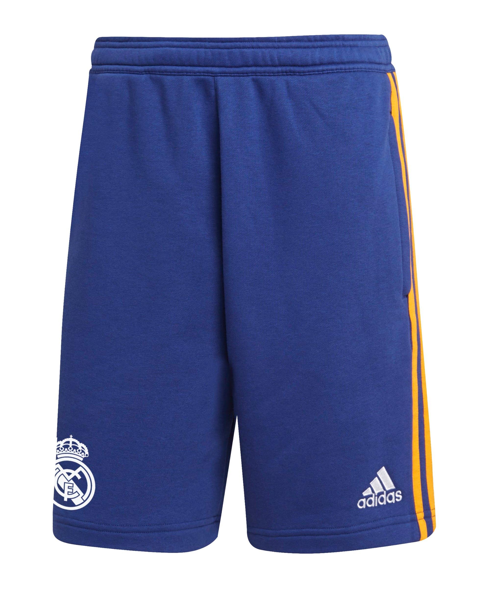 adidas Real Madrid 3S Short Blau - blau
