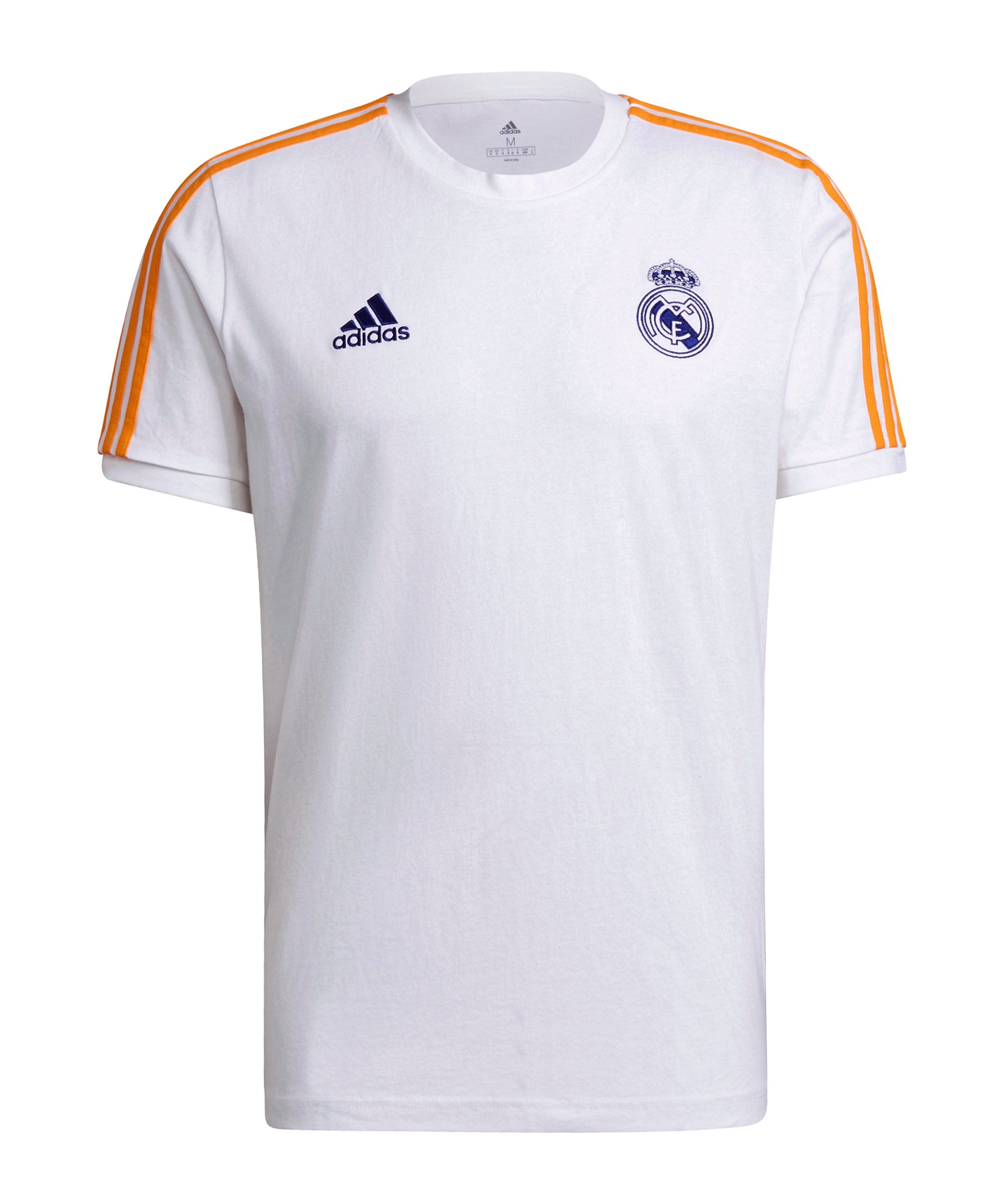 adidas Real Madrid 3S T-Shirt Weiss - weiss