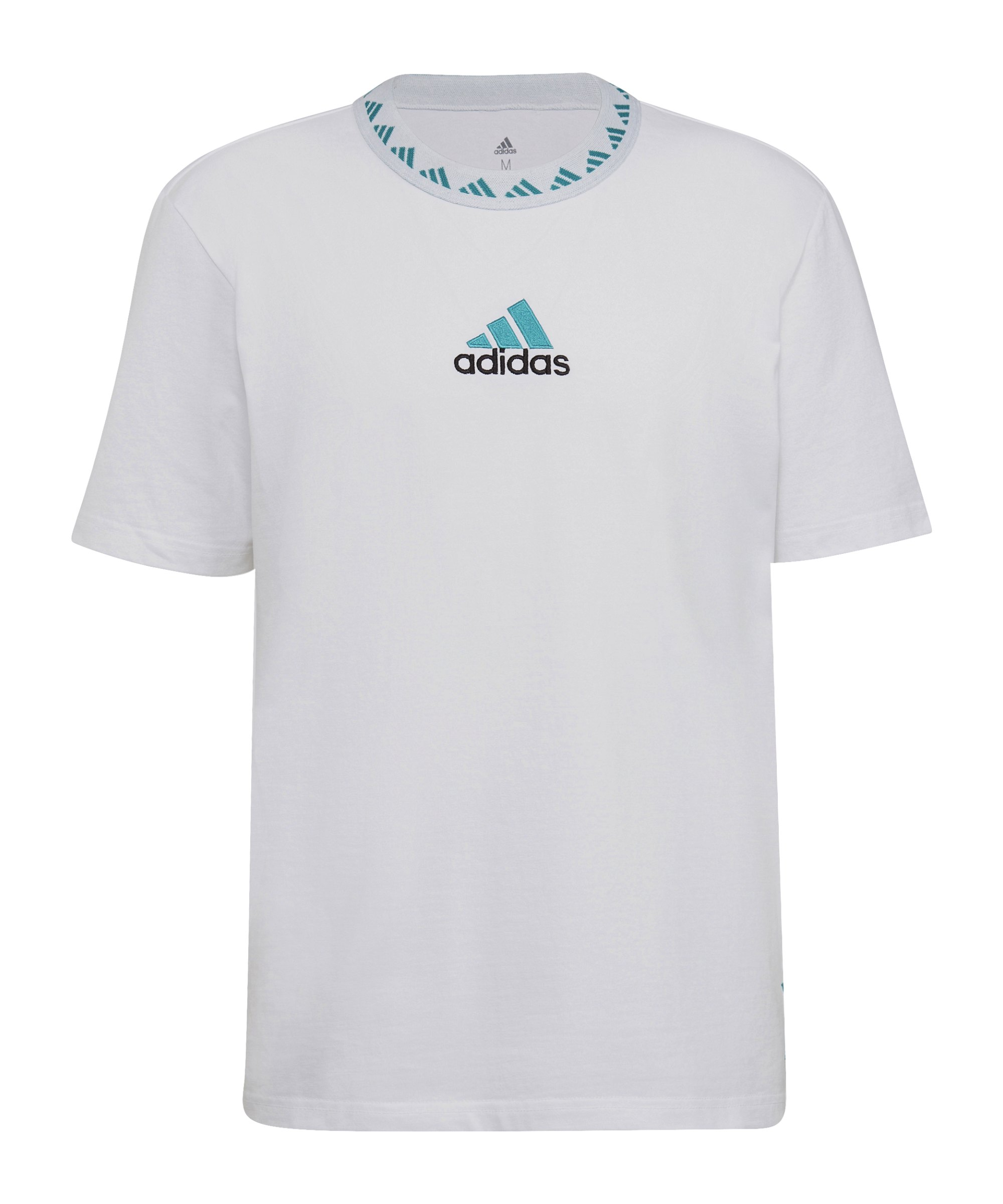 adidas Real Madrid Icon T-Shirt Weiss - weiss