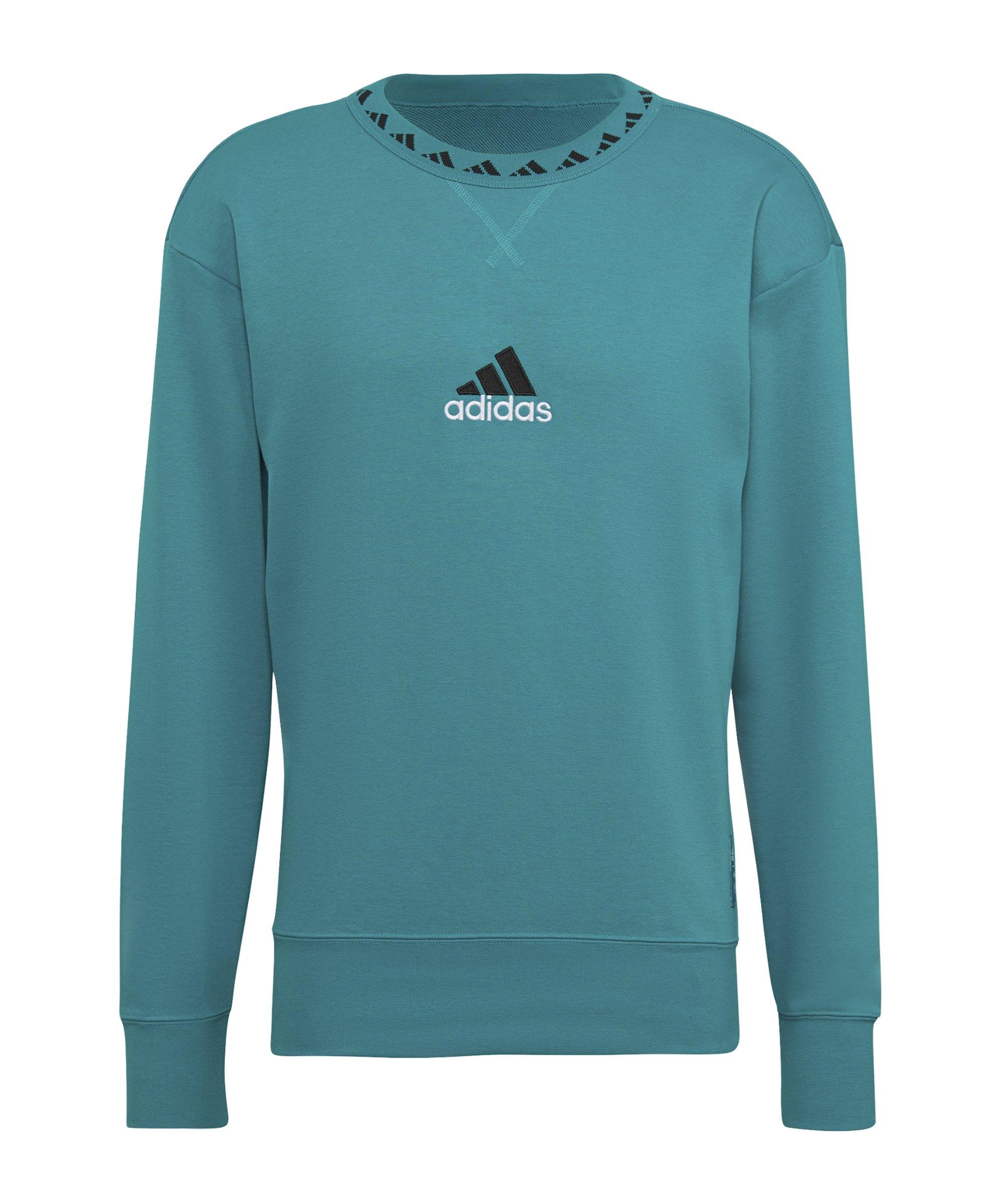 adidas Real Madrid Icon Sweatshirt Grün - gruen