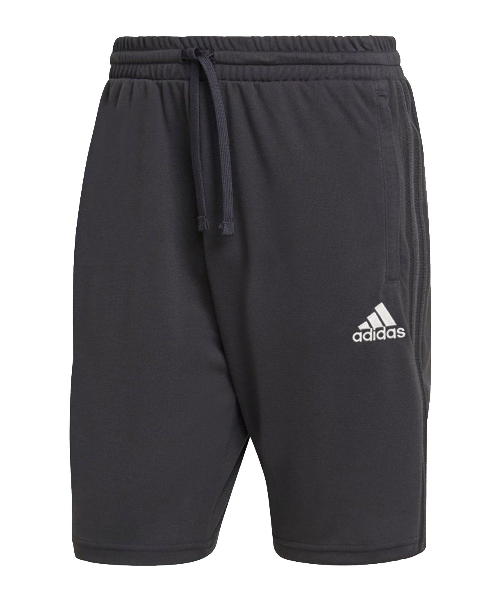 adidas Real Madrid Short Schwarz - schwarz