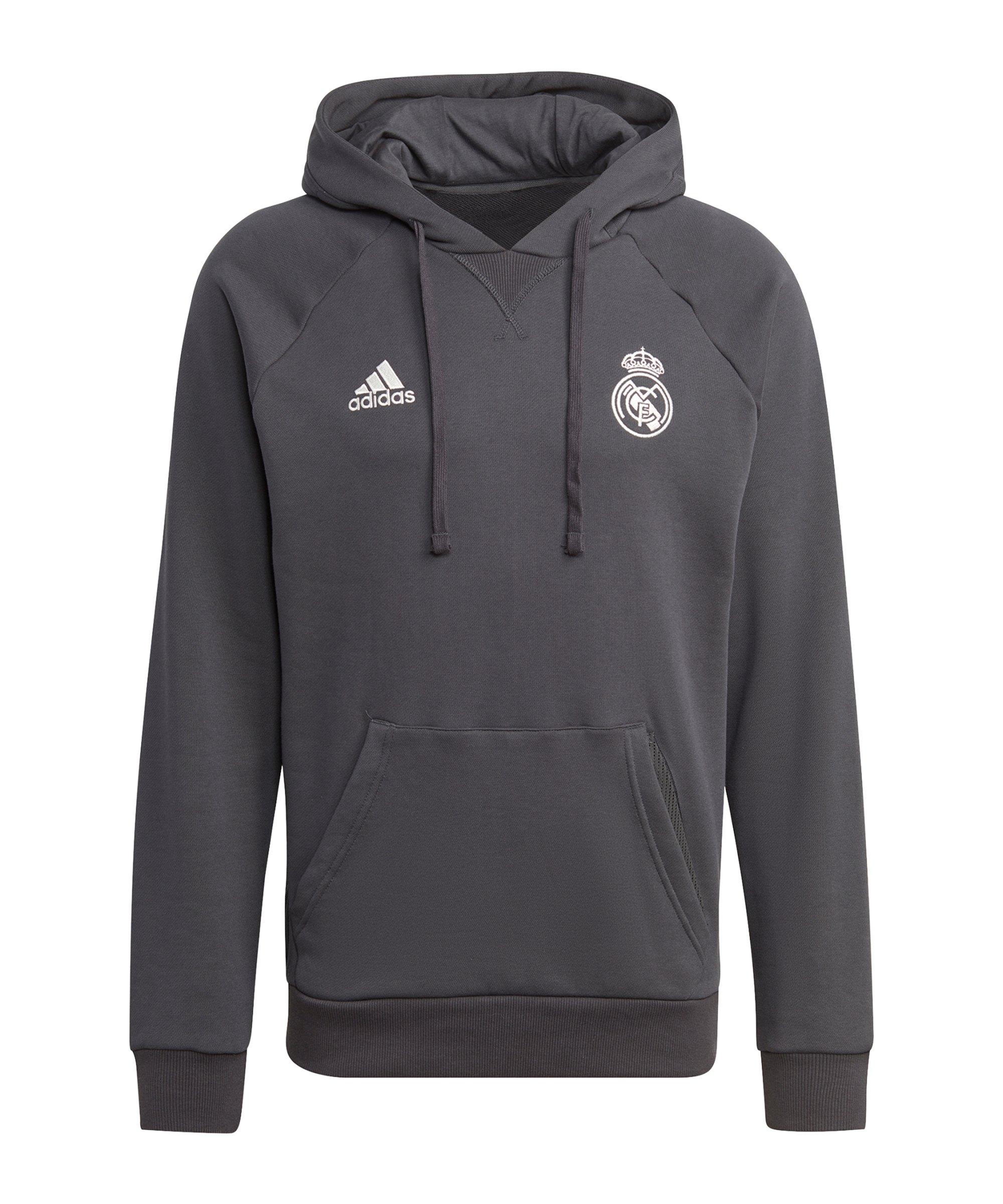 adidas Real Madrid Hoody Schwarz - schwarz