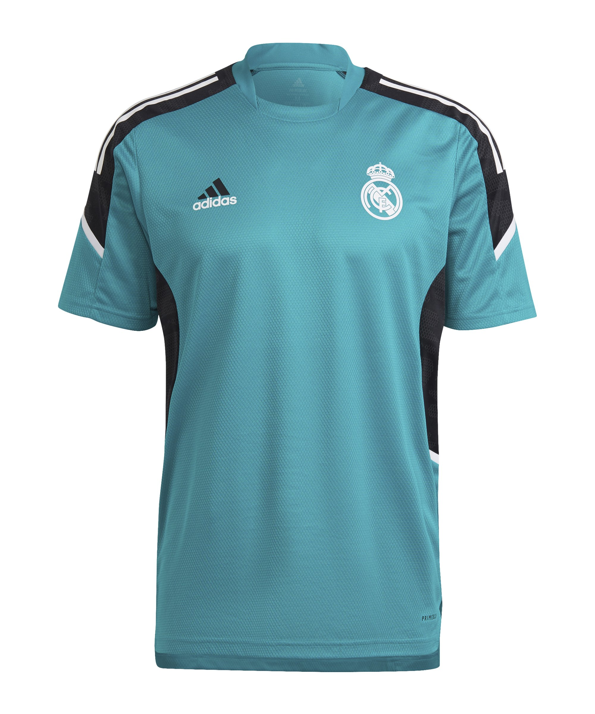 adidas Real Madrid Trainingsshirt Grün - gruen