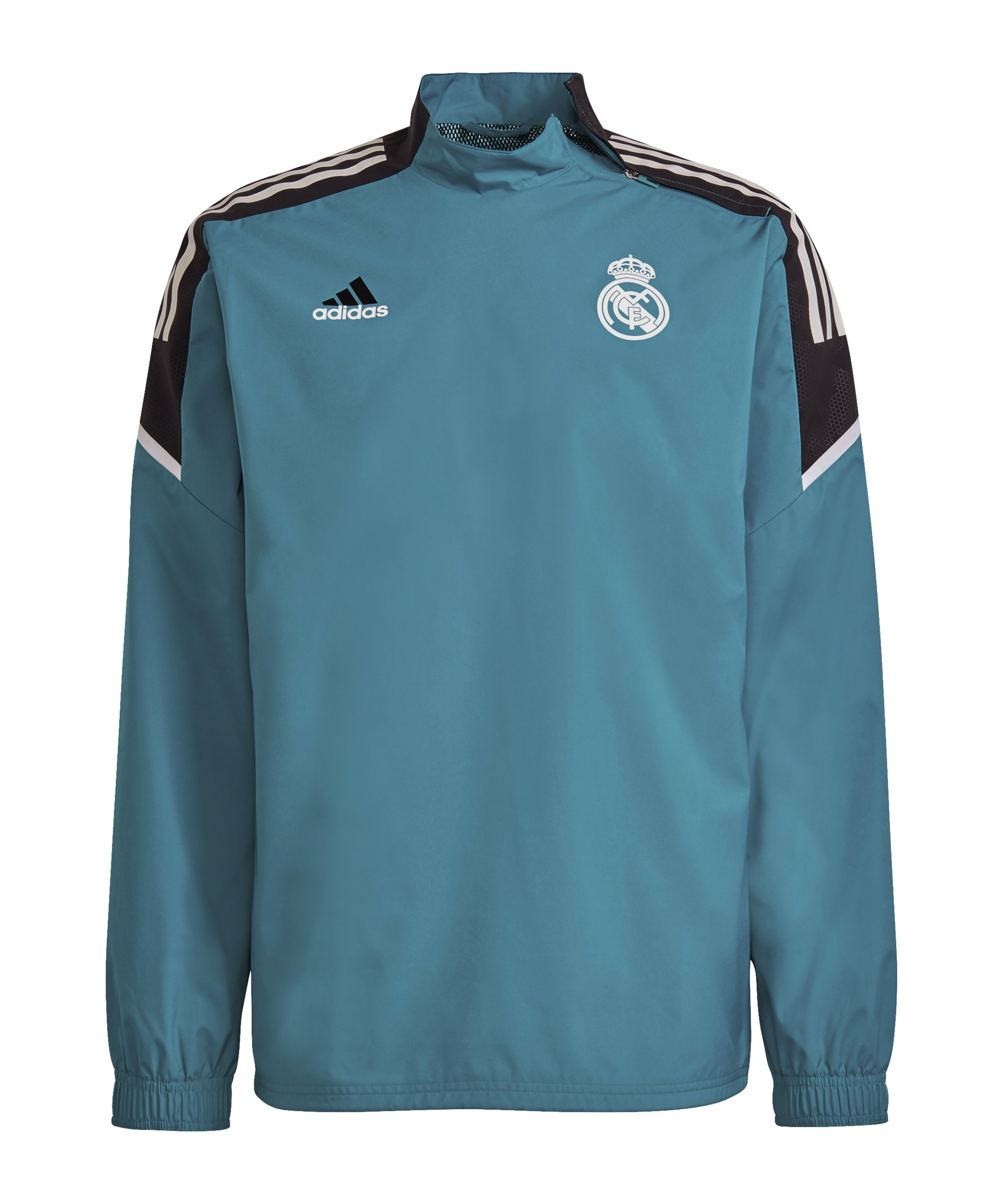 adidas Real Madrid Sweatshirt Grün - gruen