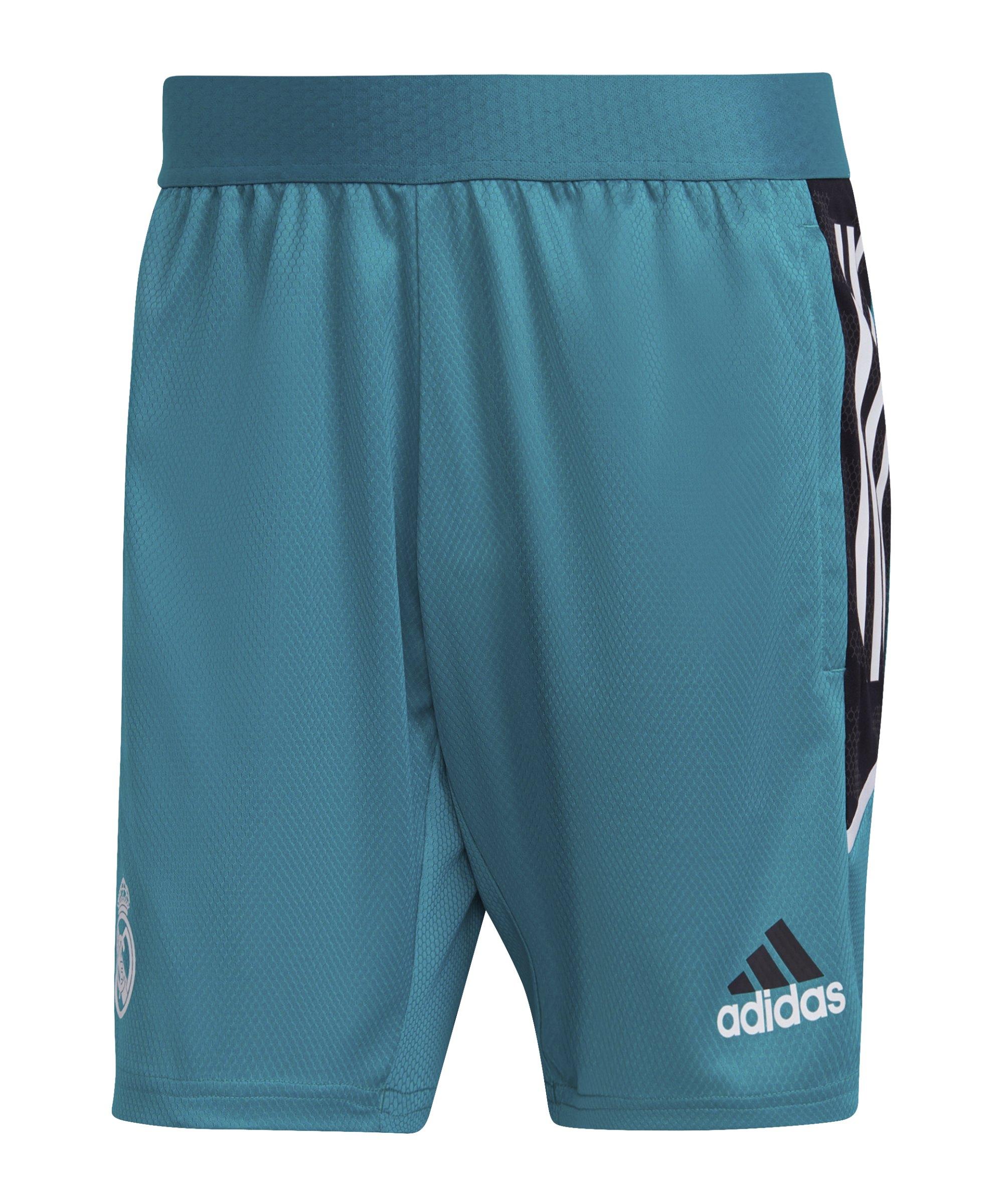 adidas Real Madrid Trainingsshort Grün - gruen