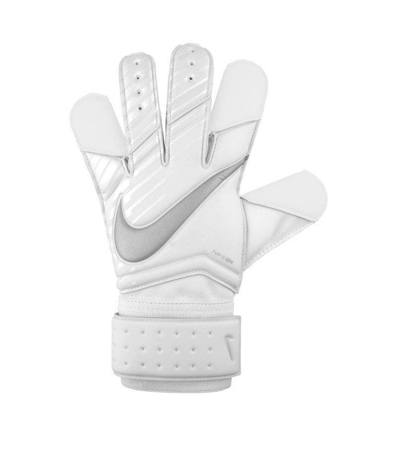 Nike Grip 3 Torwarthandschuh Weiss F100 - weiss