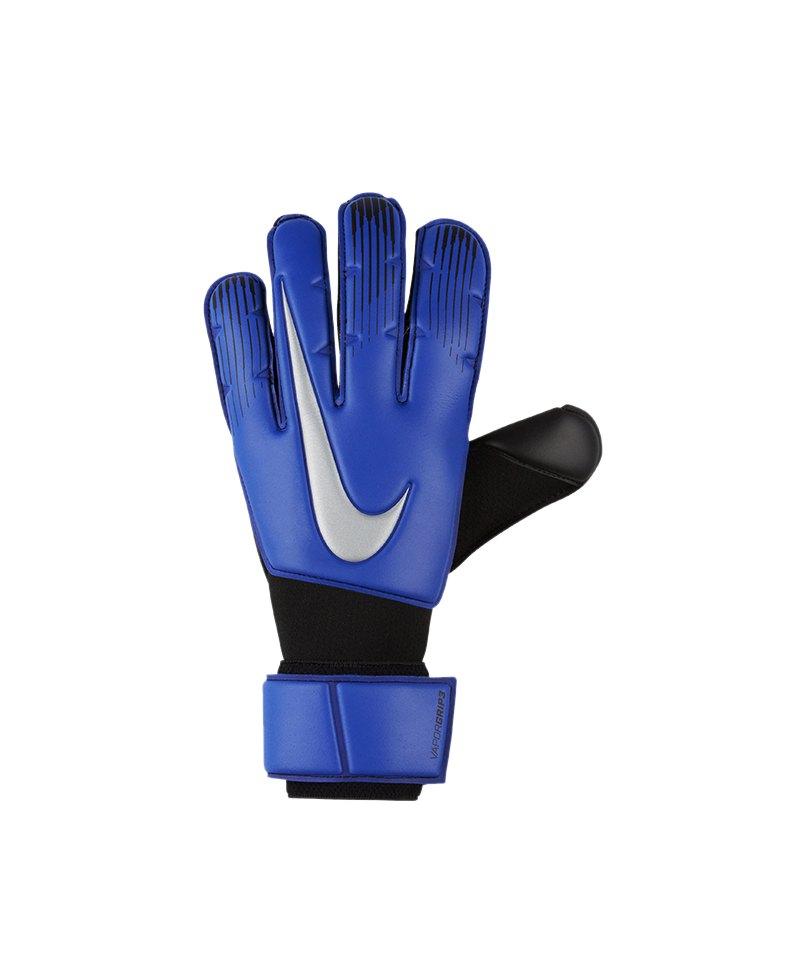 Nike Vapor Grip 3 Torwarthandschuh Blau F410 - blau