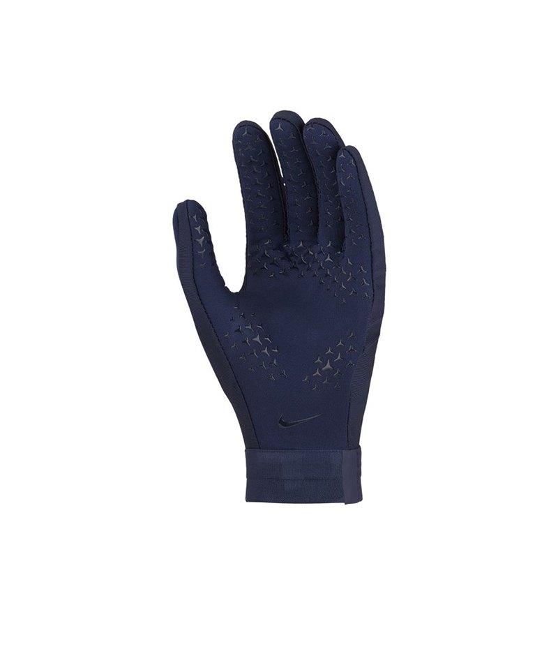 Nike Academy Hyperwarm Feldspielerhandschuhe F451 - blau