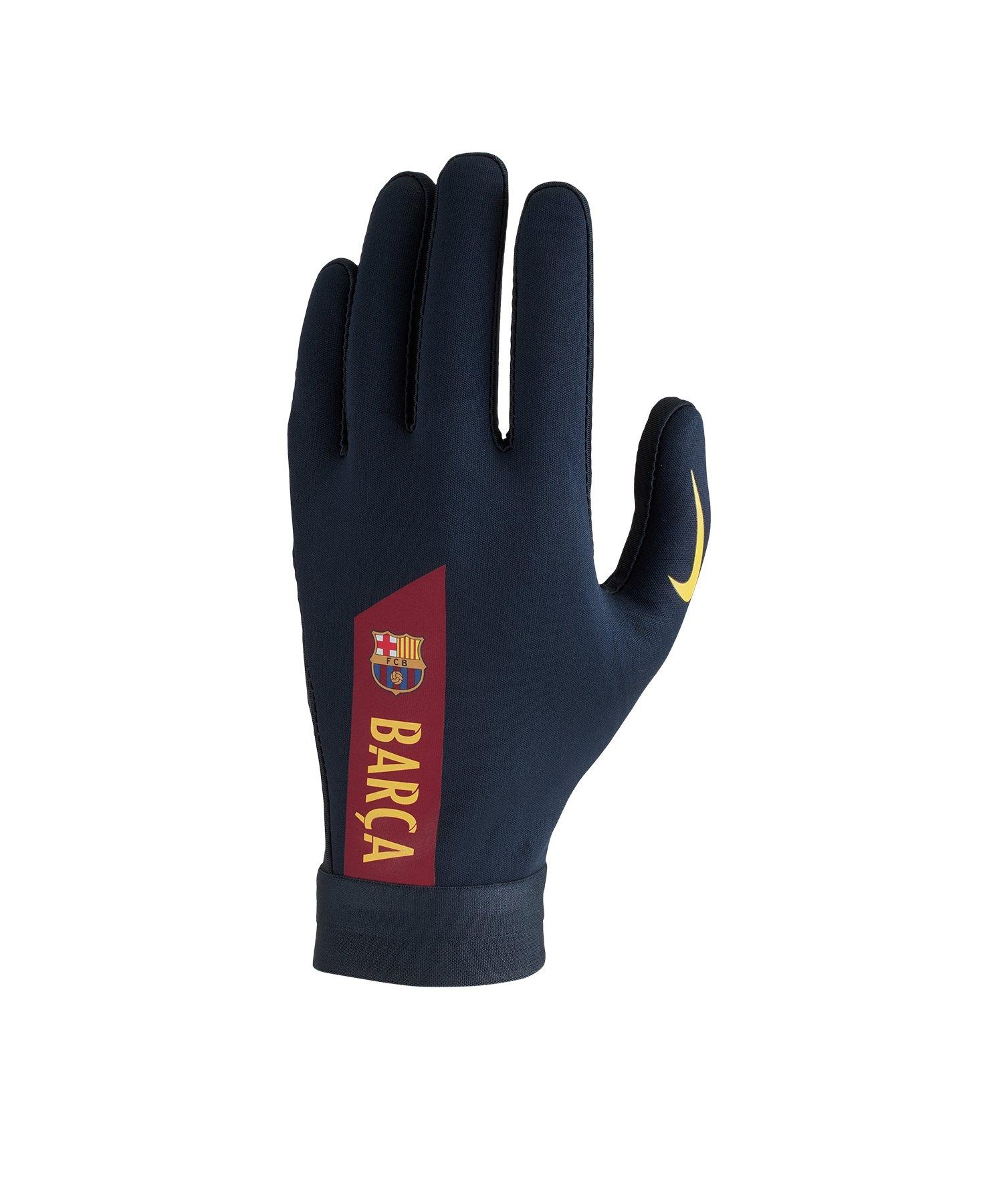Nike Hyperwarm Acadamy FC Barcelona Handschuh F451 - blau