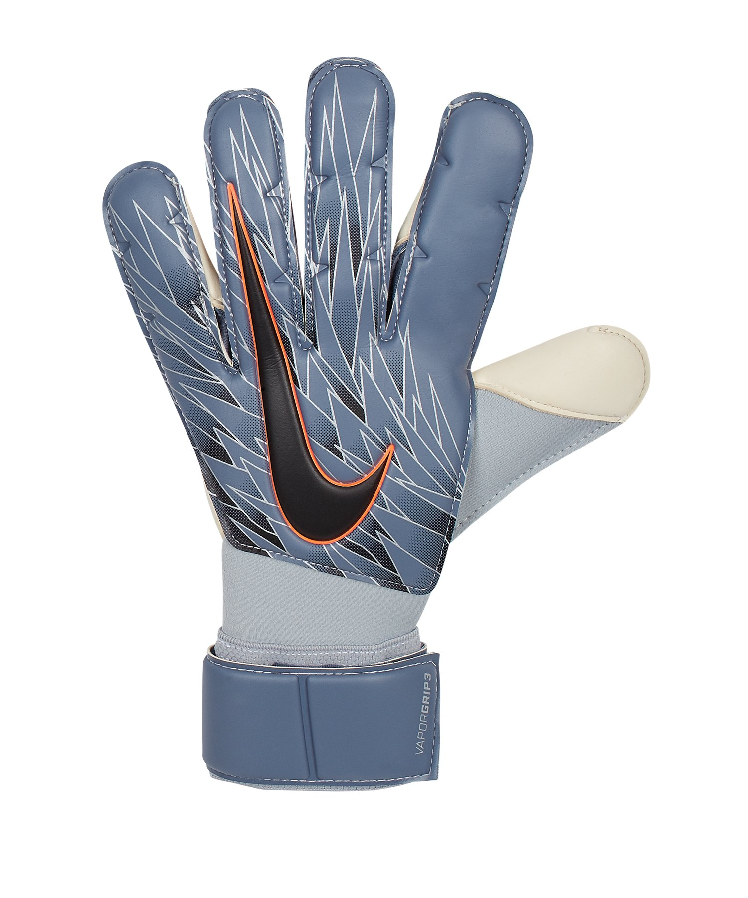 Nike Vapor Grip3 Torwarthandschuh Grau F490 - Blau