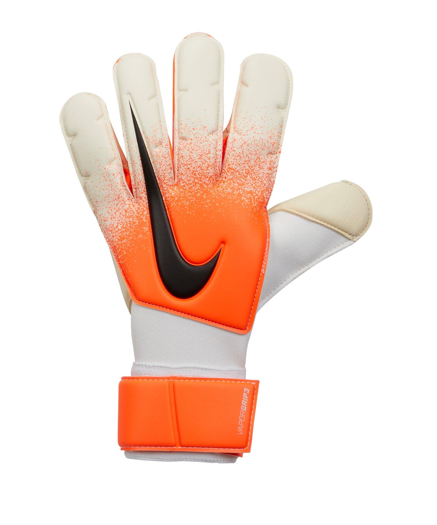 Nike Grip3 Torwarthandschuh Weiss Rot F100 - Weiss