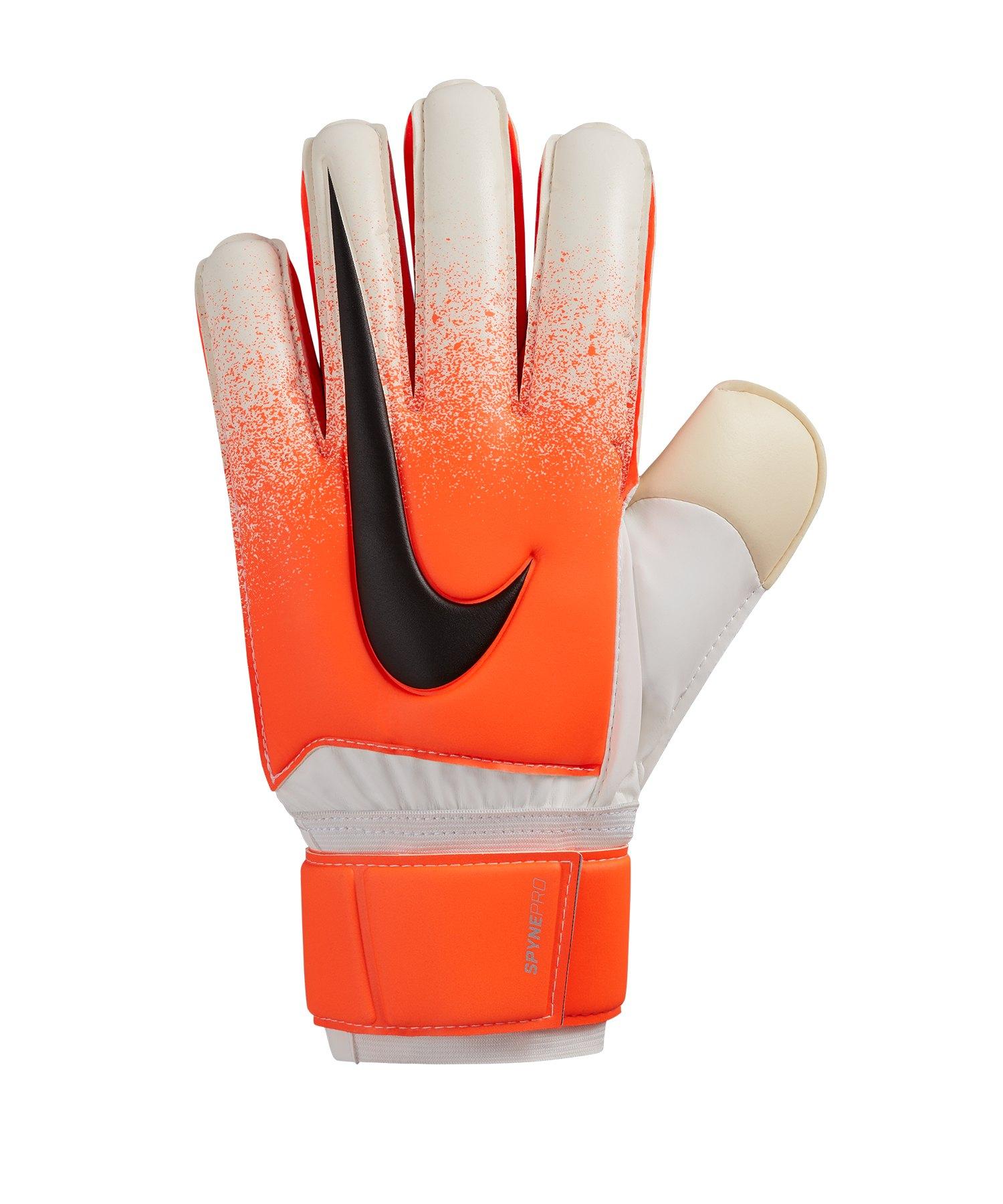 Nike Spyne Pro Torwarthandschuh Rot Weiss F100 - Weiss