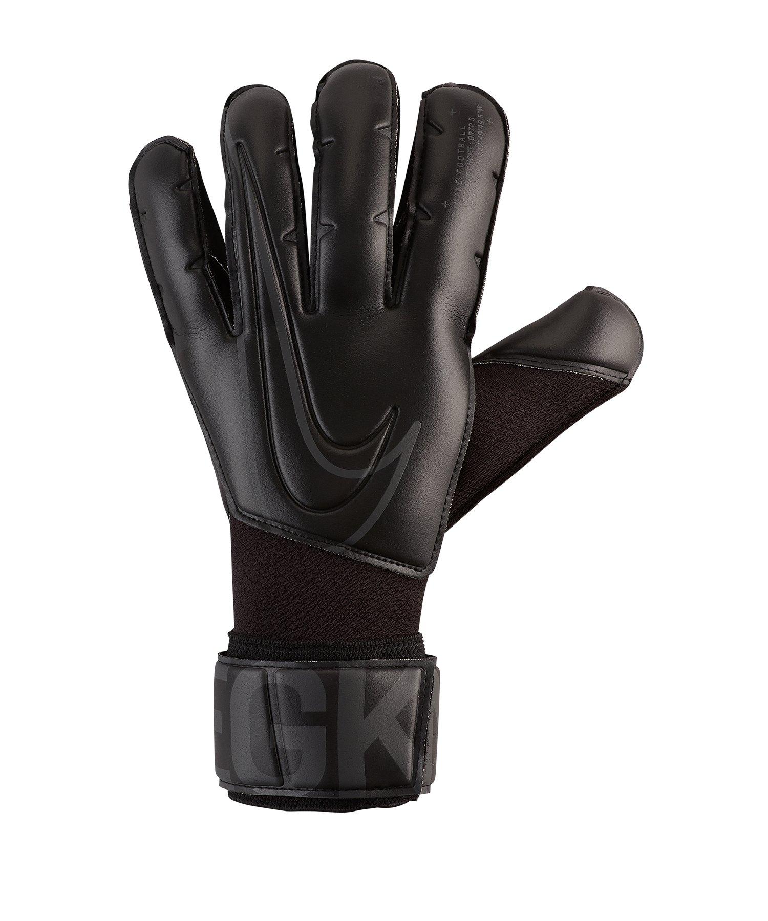 Nike Grip 3 Torwarthandschuh Schwarz F010 - schwarz