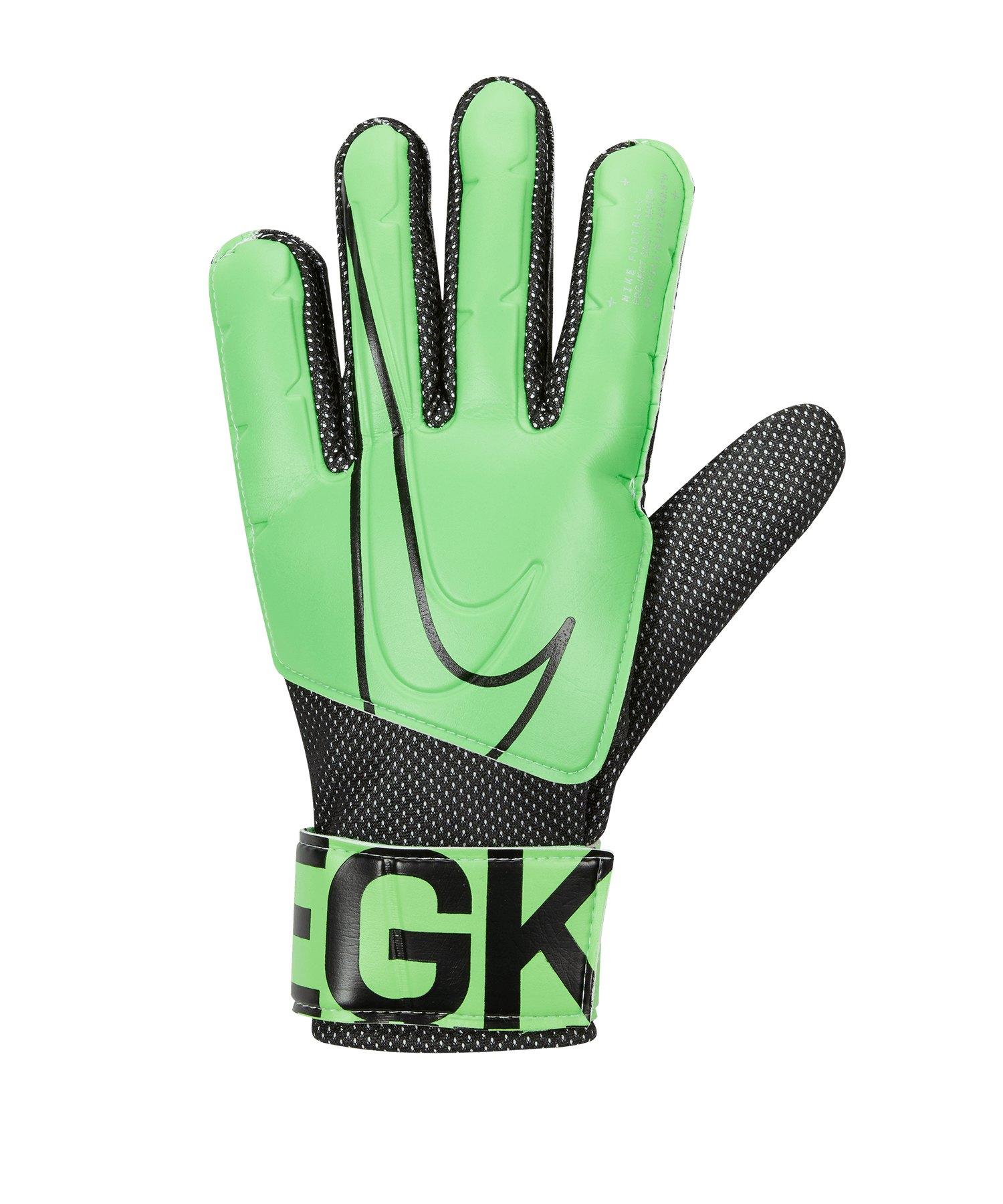 Nike Match Torwarthandschuh Grün F398 - gruen