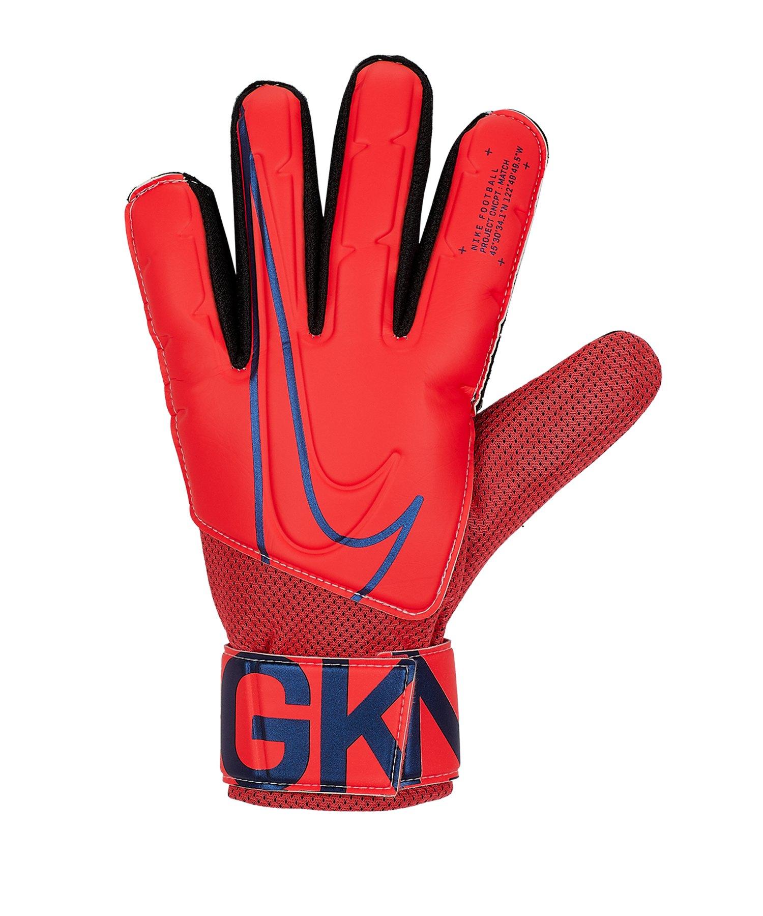 Nike Match Torwarthandschuh Rot F644 - rot