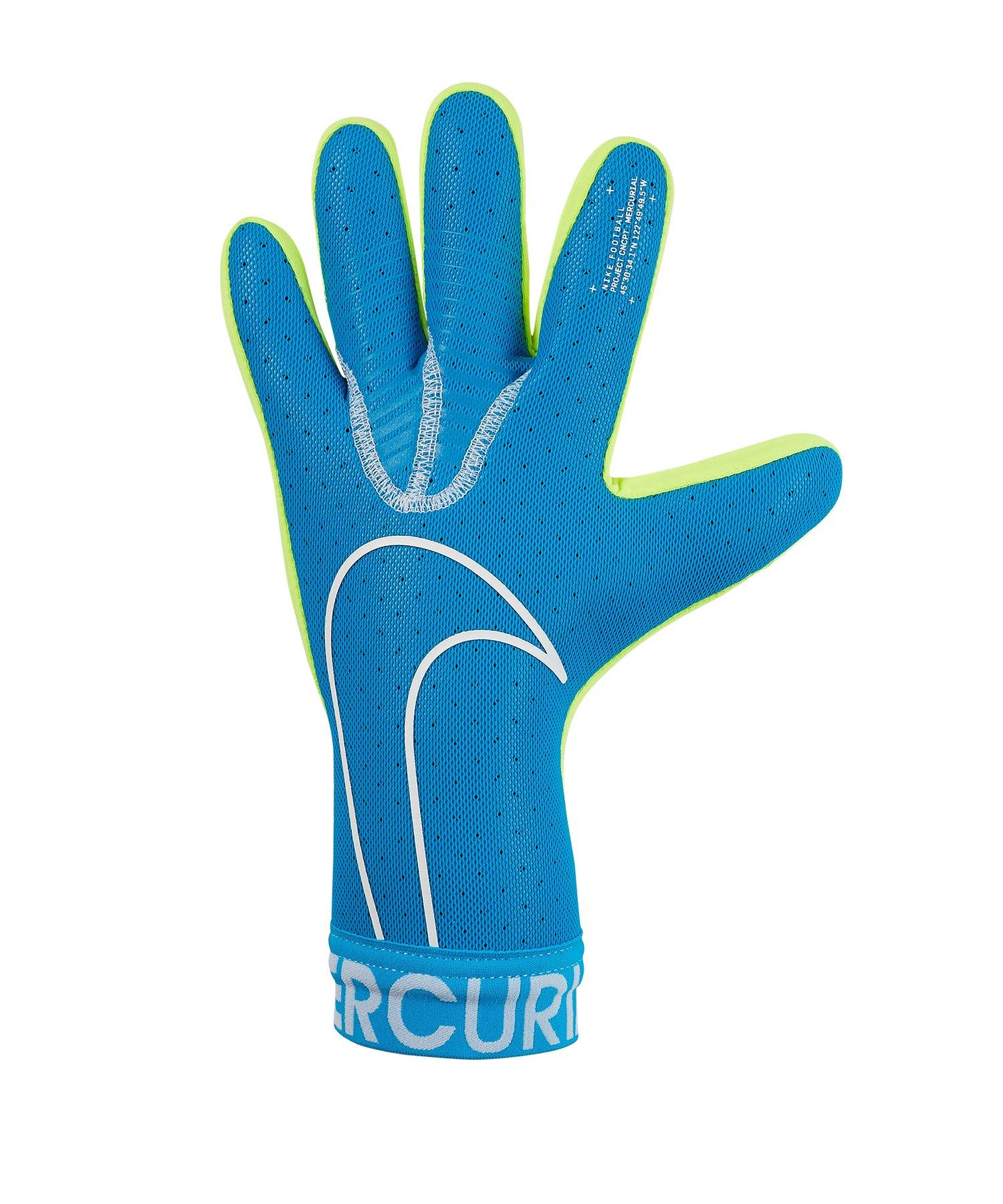 Nike Mercurial Touch Elite TW-Handschuh Blau F486 - blau