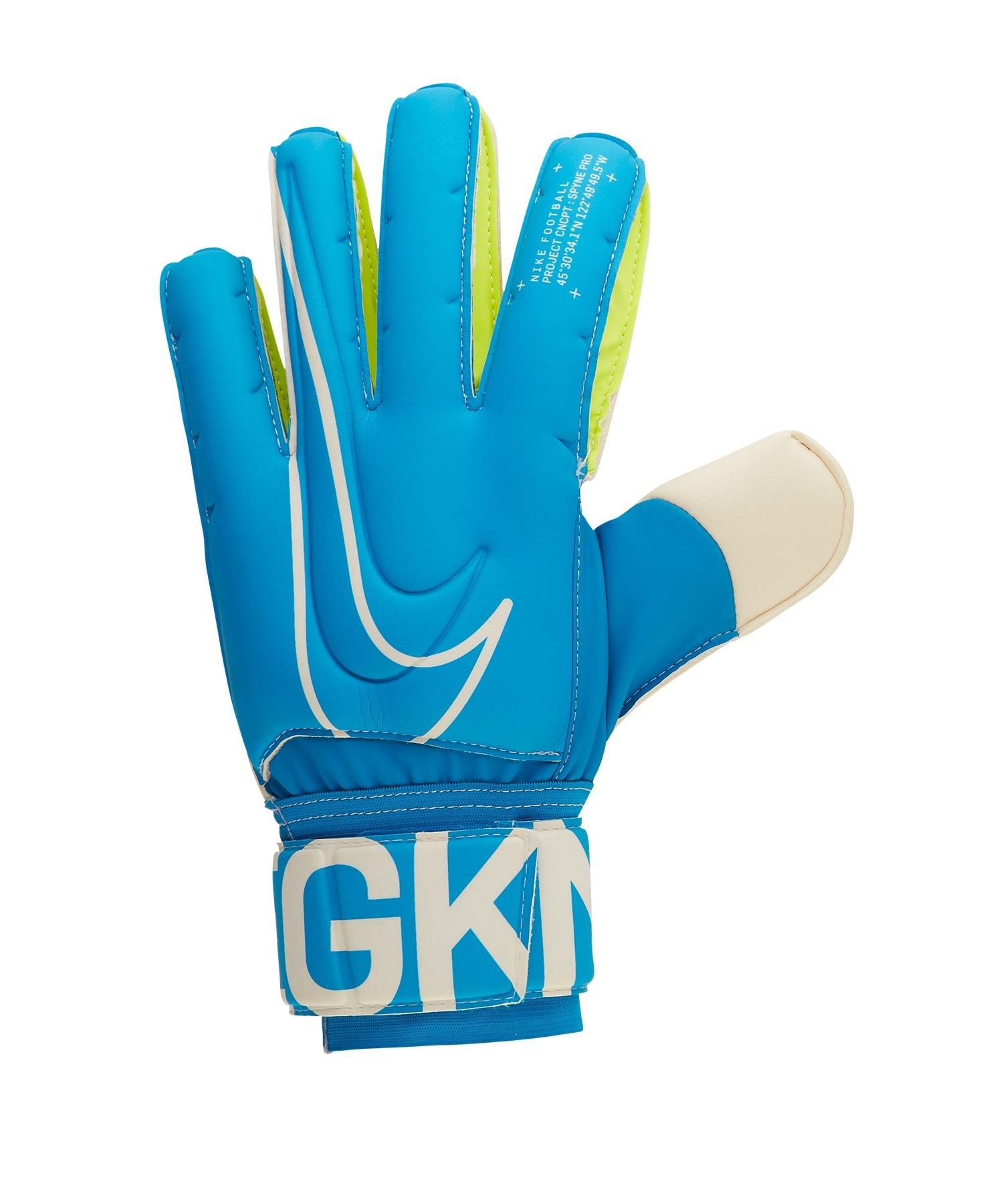 Nike Spyne Pro-FA19 TW-Handschuh Blau F486 - blau