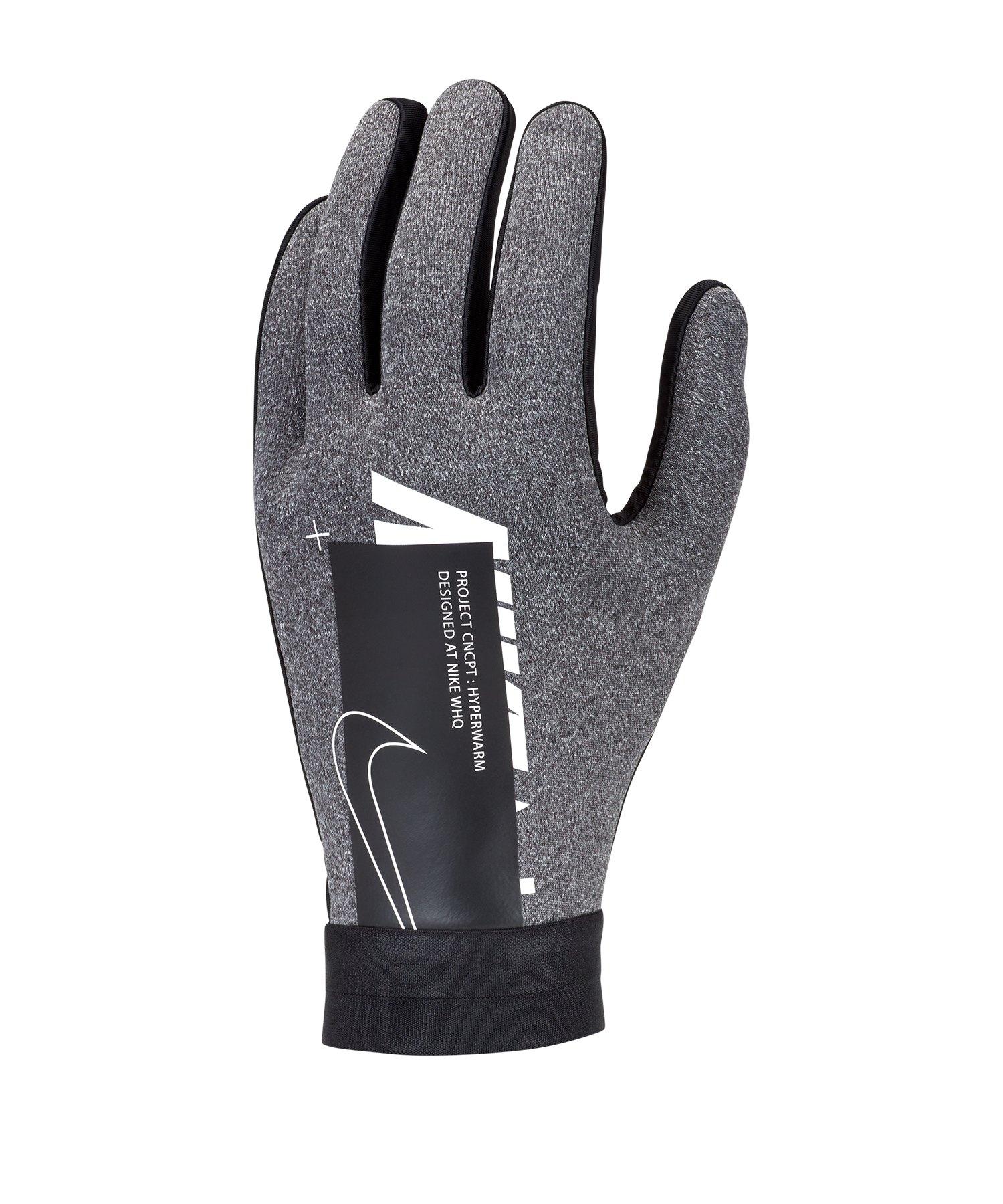 Nike Academy Hyperwarm Handschuhe Grau F071 - grau