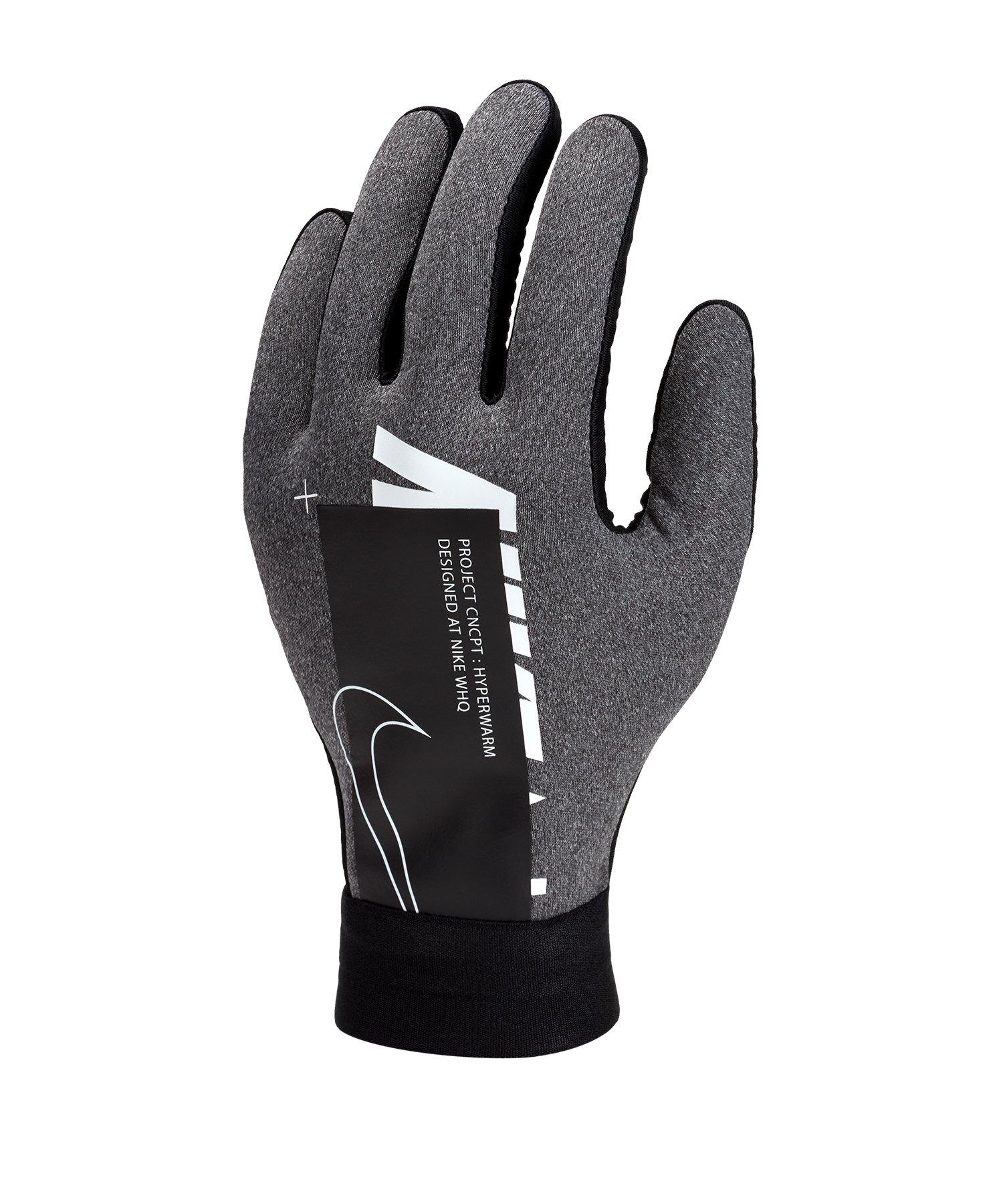 Nike Academy Hyperwarm Handschuhe Kids Grau F071 - grau