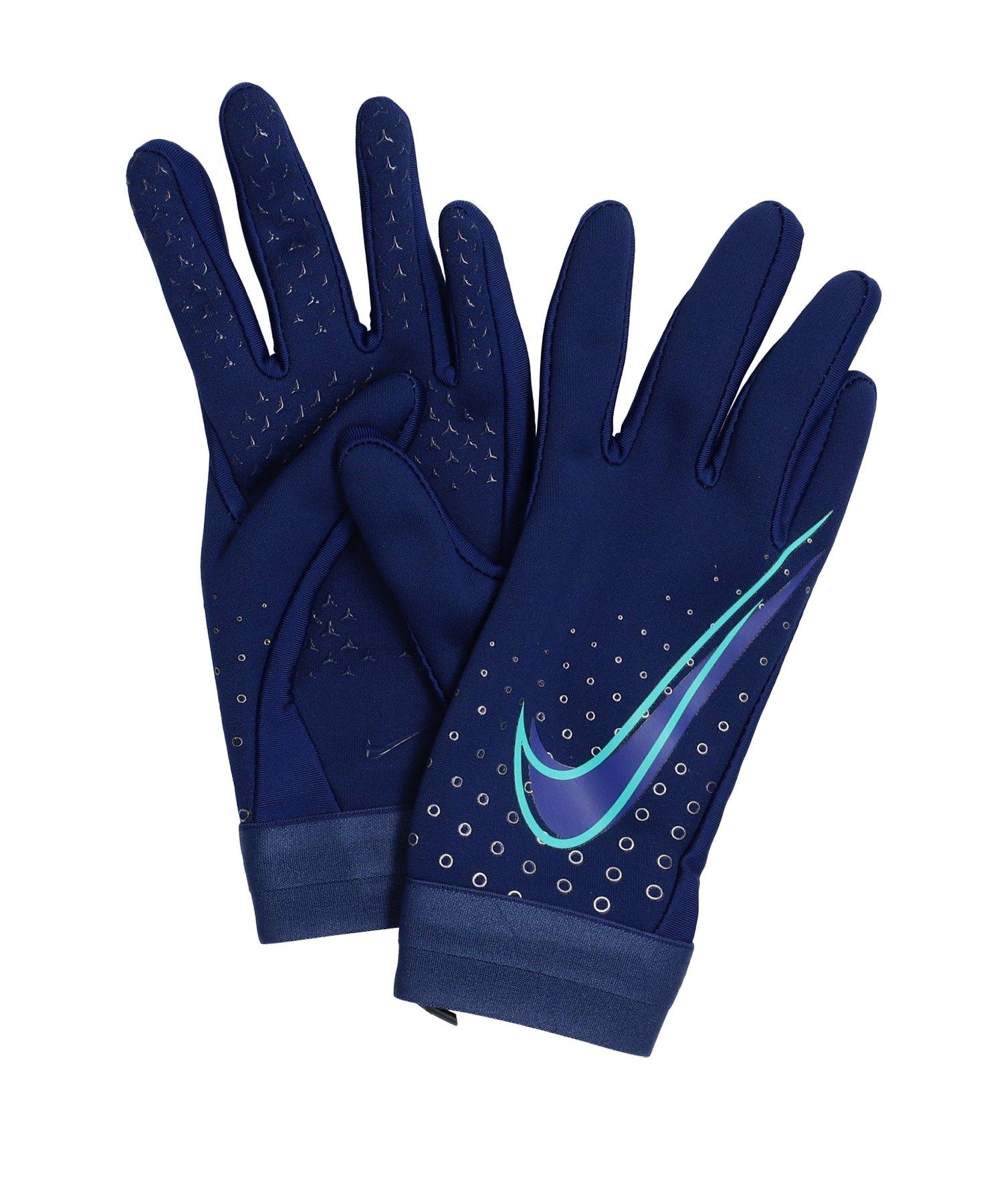 Nike CR7 Hyperwarm Handschuh Blau Lila F492 - blau