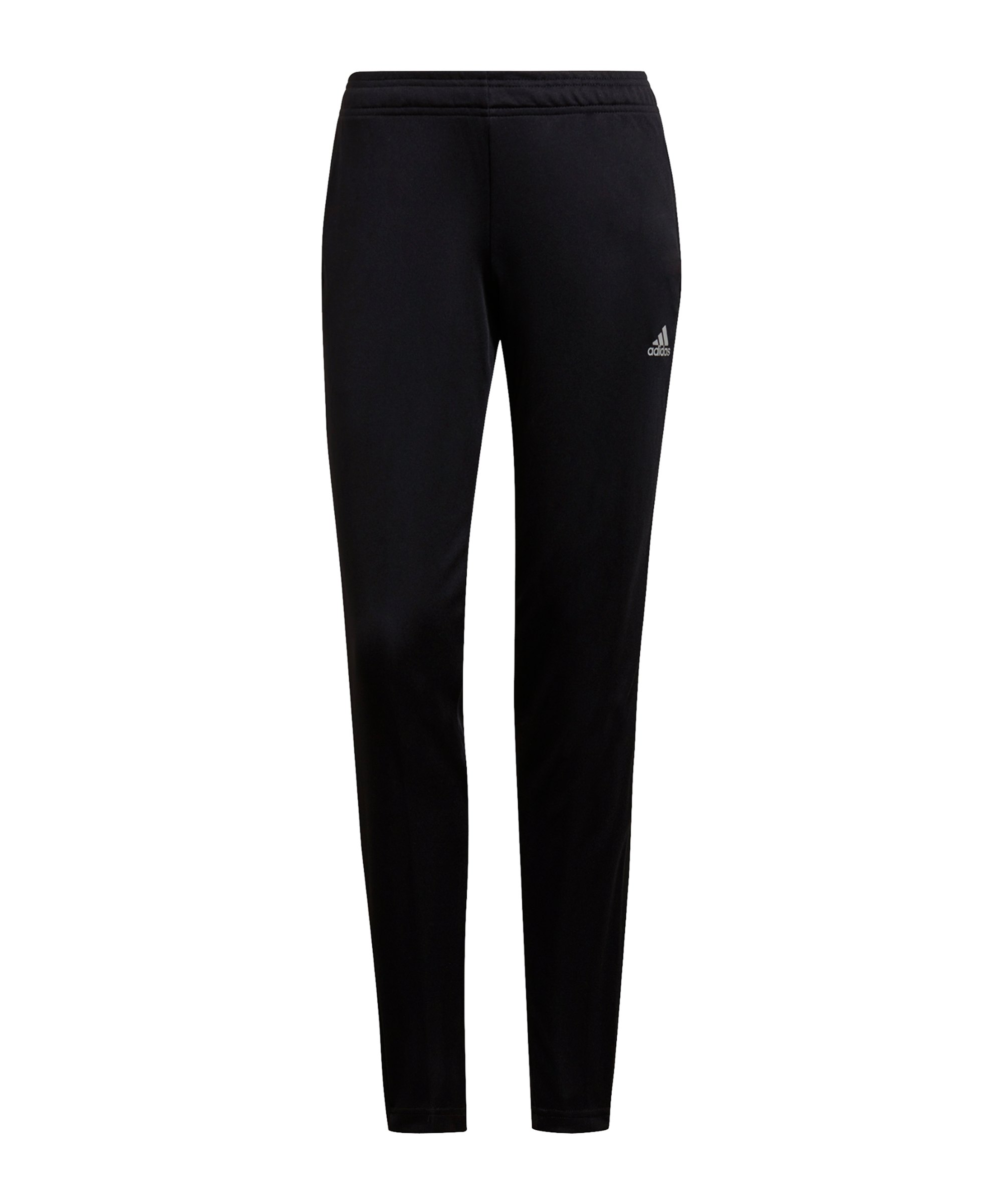 adidas Tiro Reflective Trainingshose Damen Schwarz - schwarz