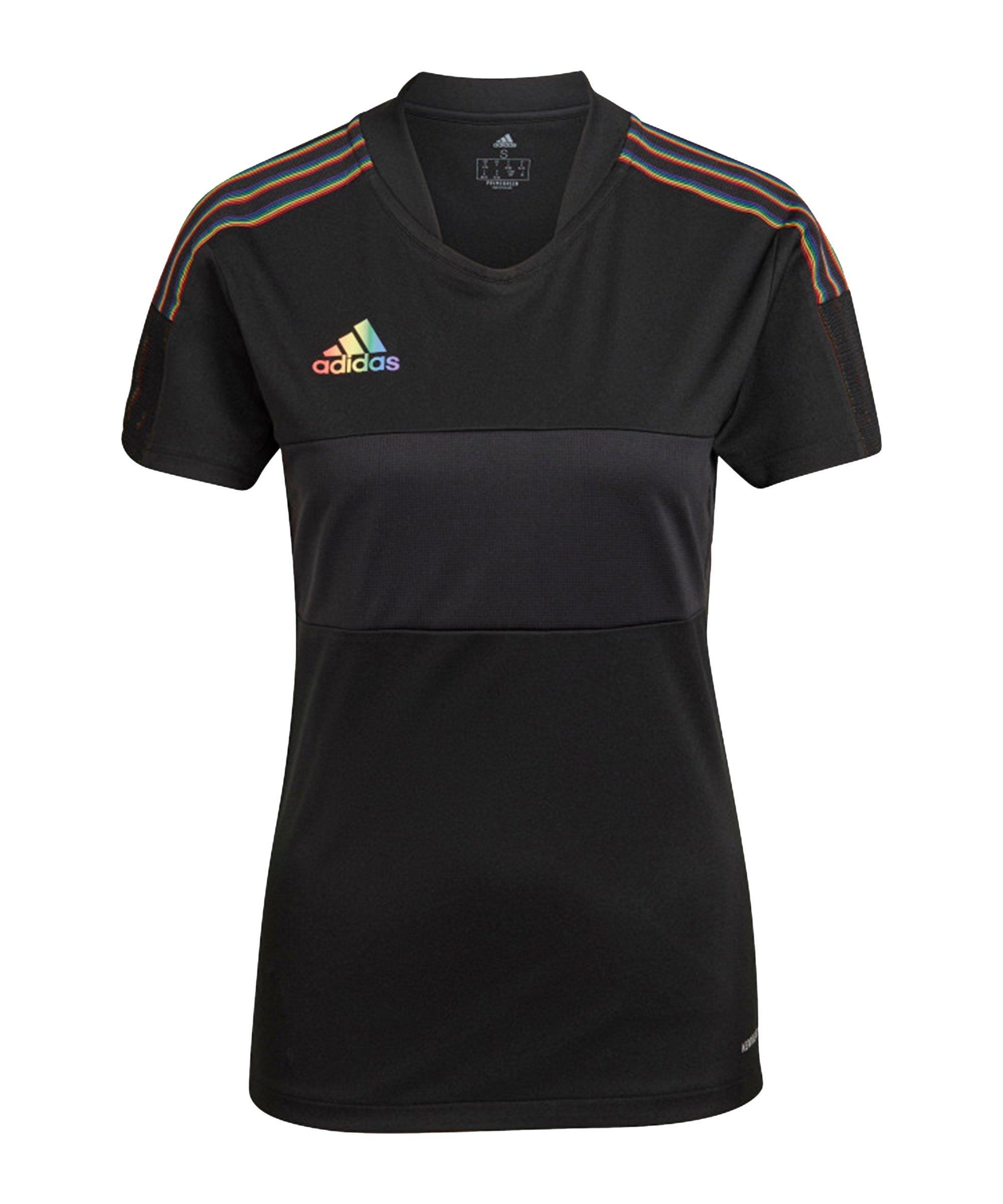 adidas Tiro Pride Trikot Damen Schwarz - schwarz