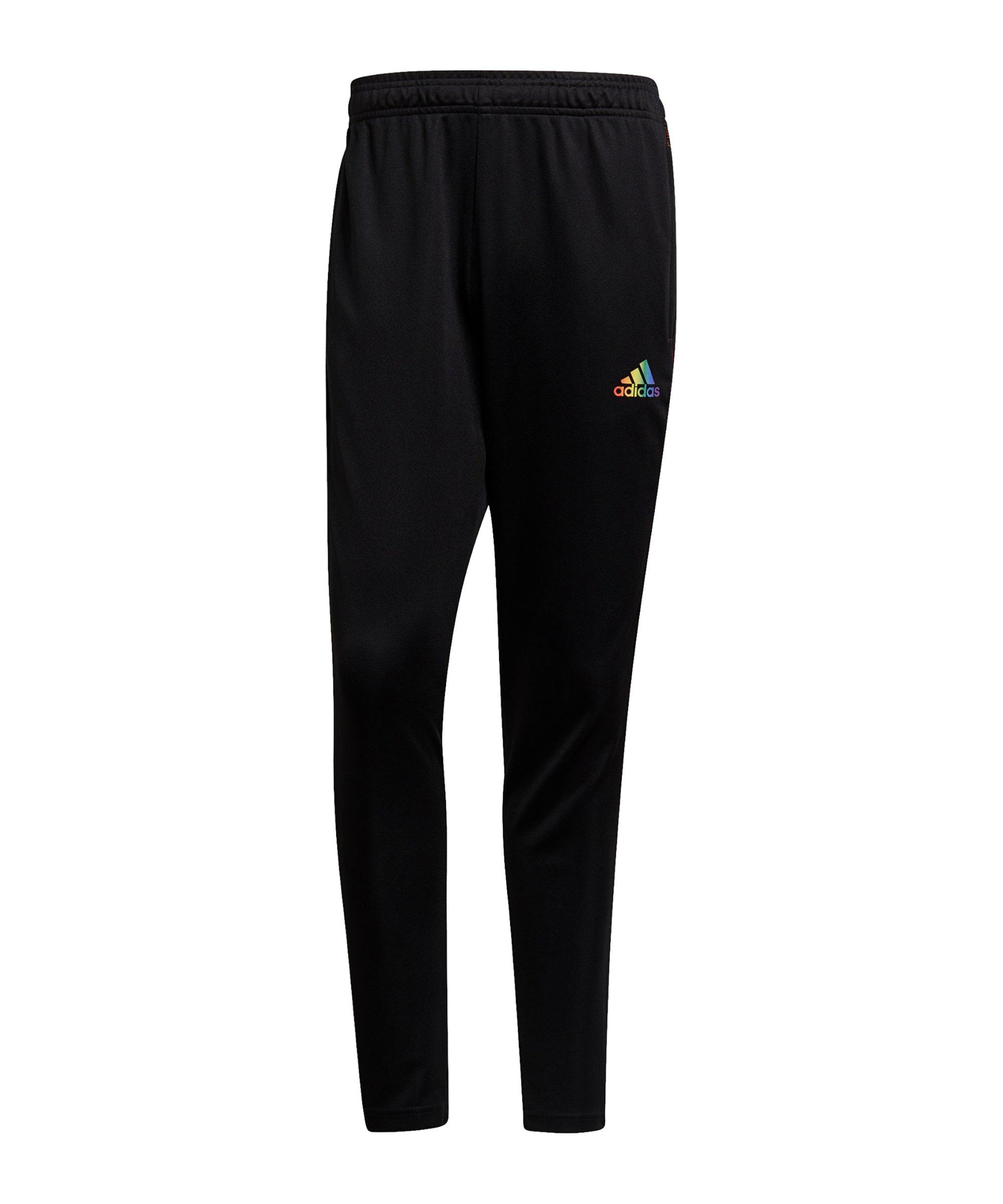 adidas Tiro Pride Trainingshose Schwarz - schwarz