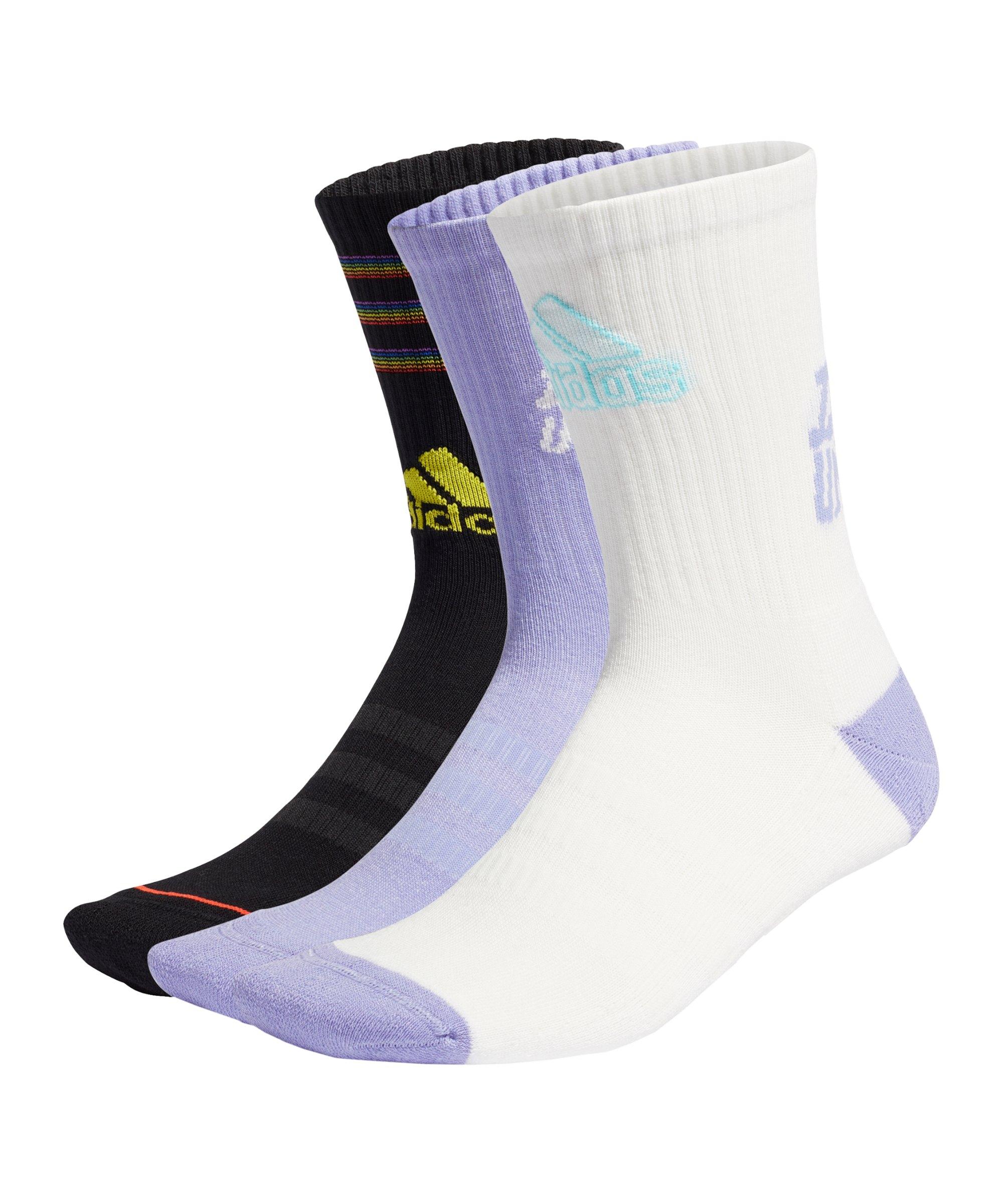 adidas Tiro Love Unites Socken 3er Pack Schwarz - schwarz