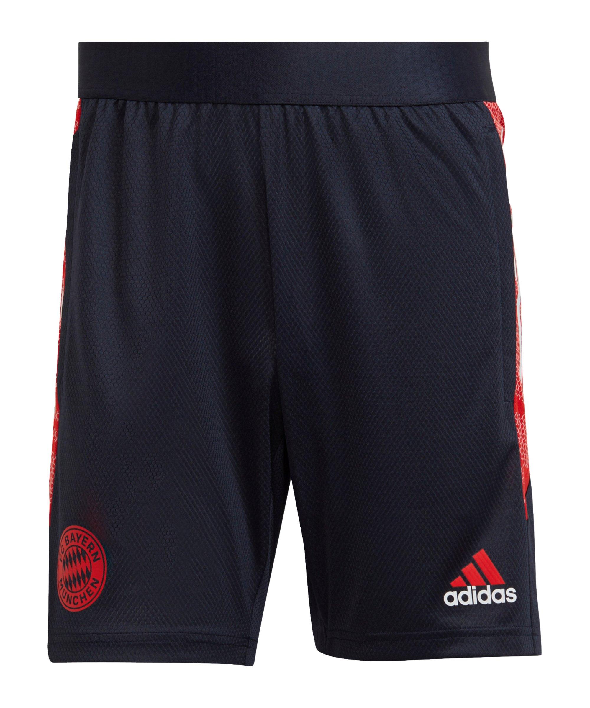adidas FC Bayern München EU Trainingsshort Blau - blau