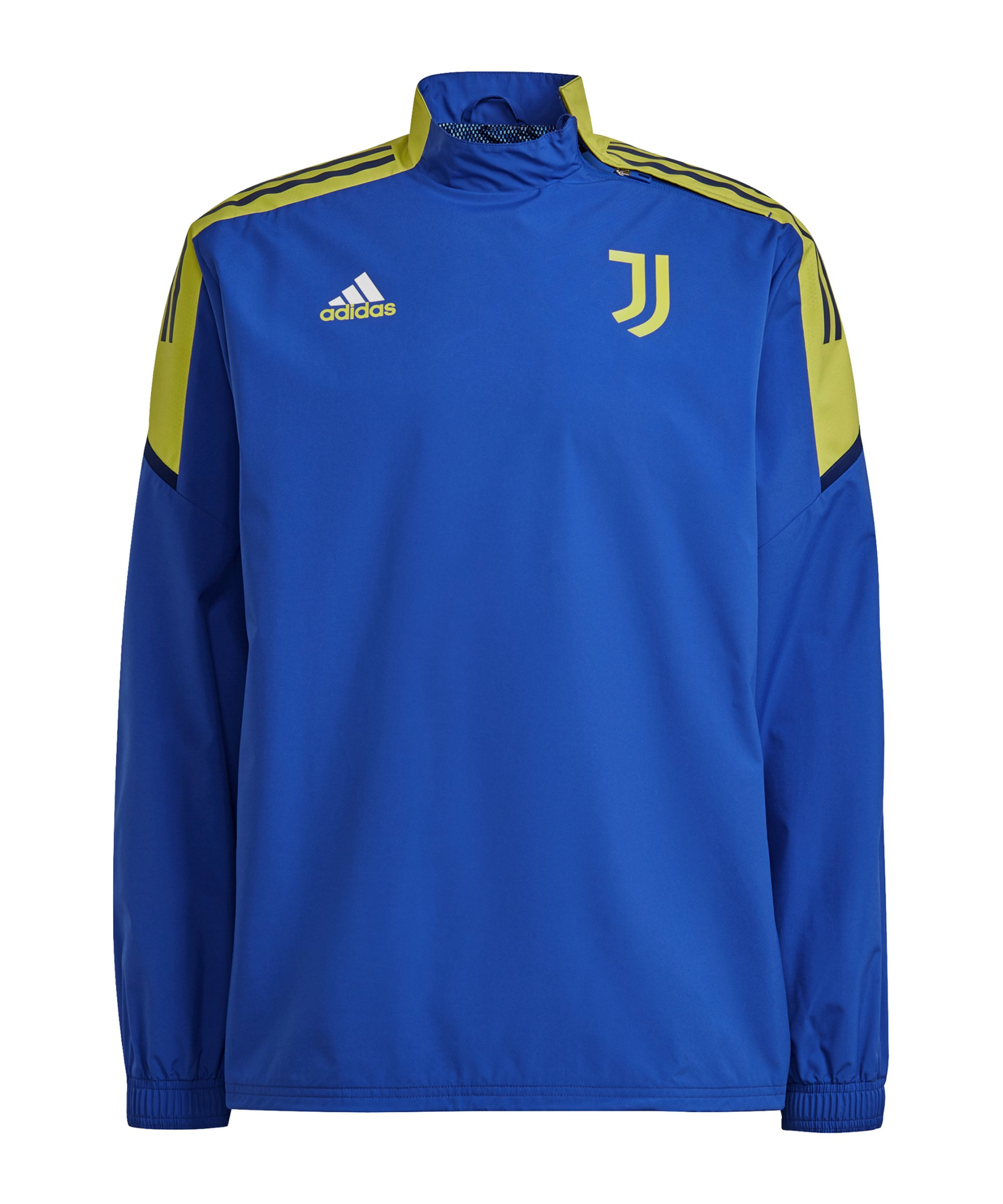 adidas Juventus Turin Sweatshirt Blau Gelb - gelb