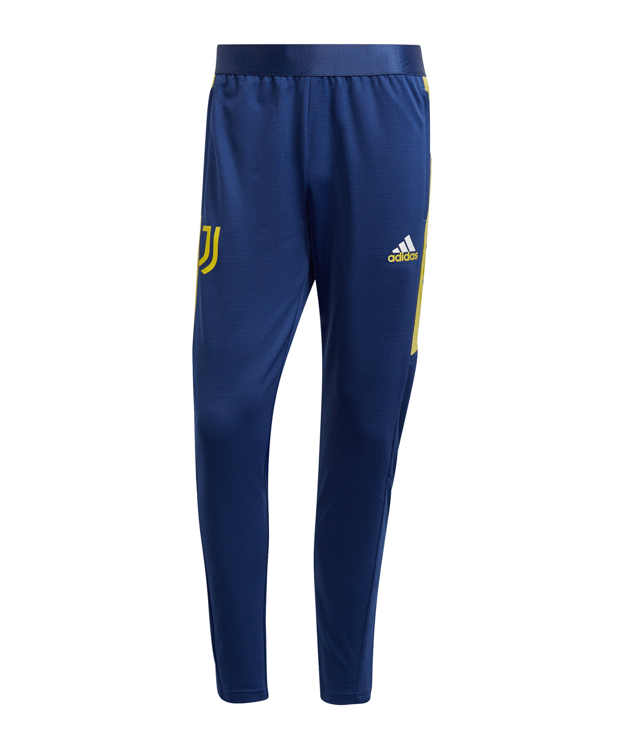 adidas Juventus Turin Trainingshose Blau Gelb - gelb