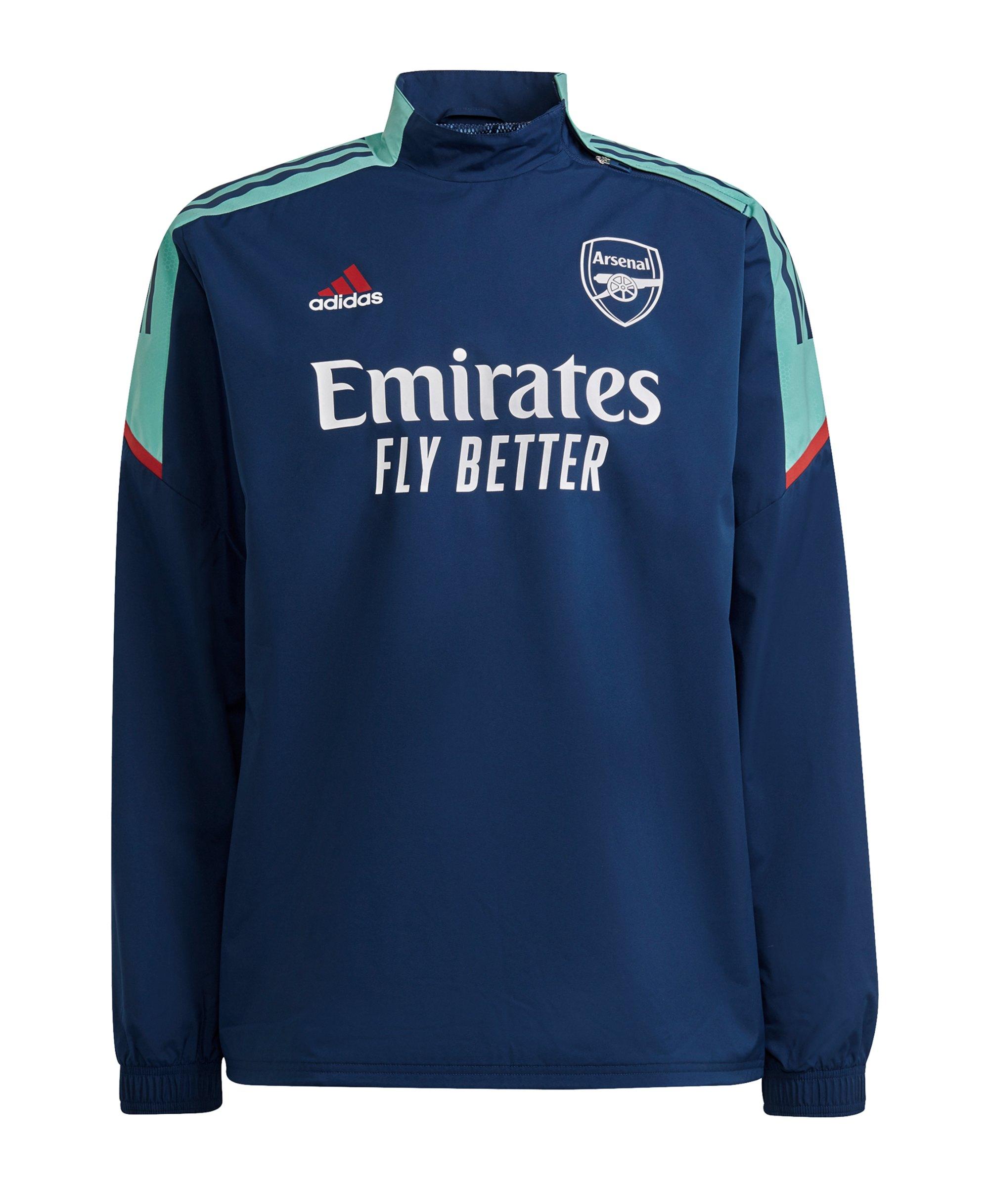 adidas FC Arsenal London Sweatshirt Blau - blau
