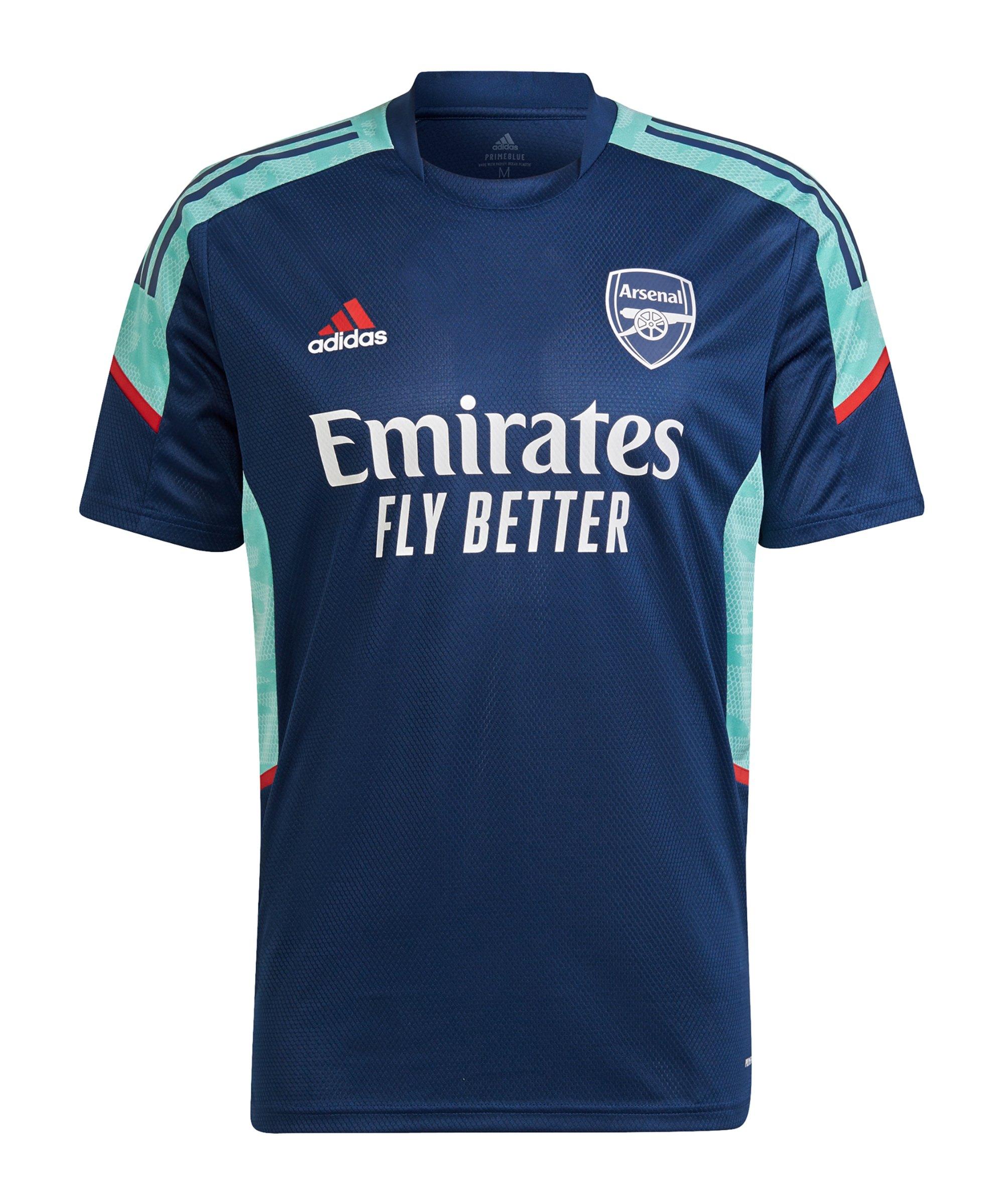 adidas FC Arsenal London Trainingsshirt Blau - blau