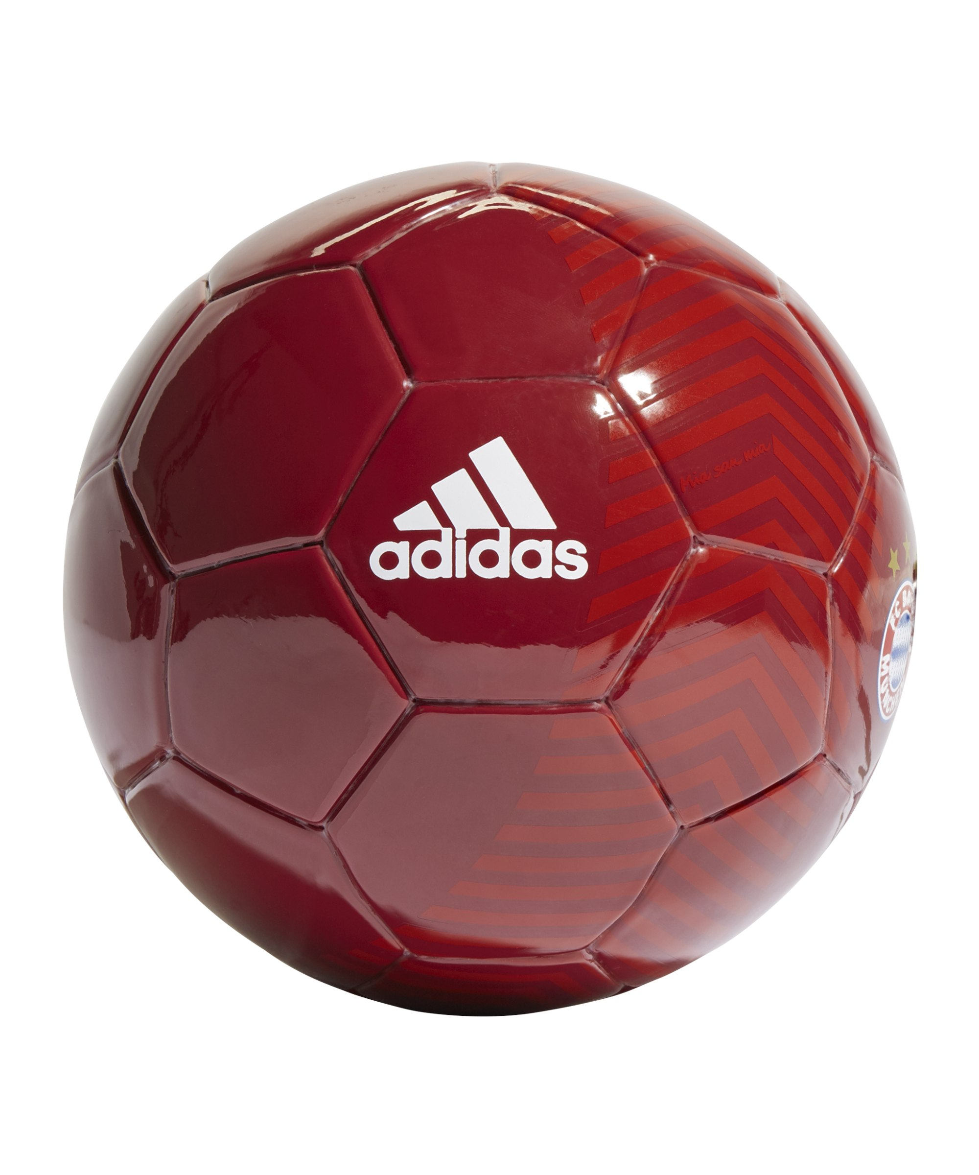 adidas FC Bayern München Fanball Rot - rot