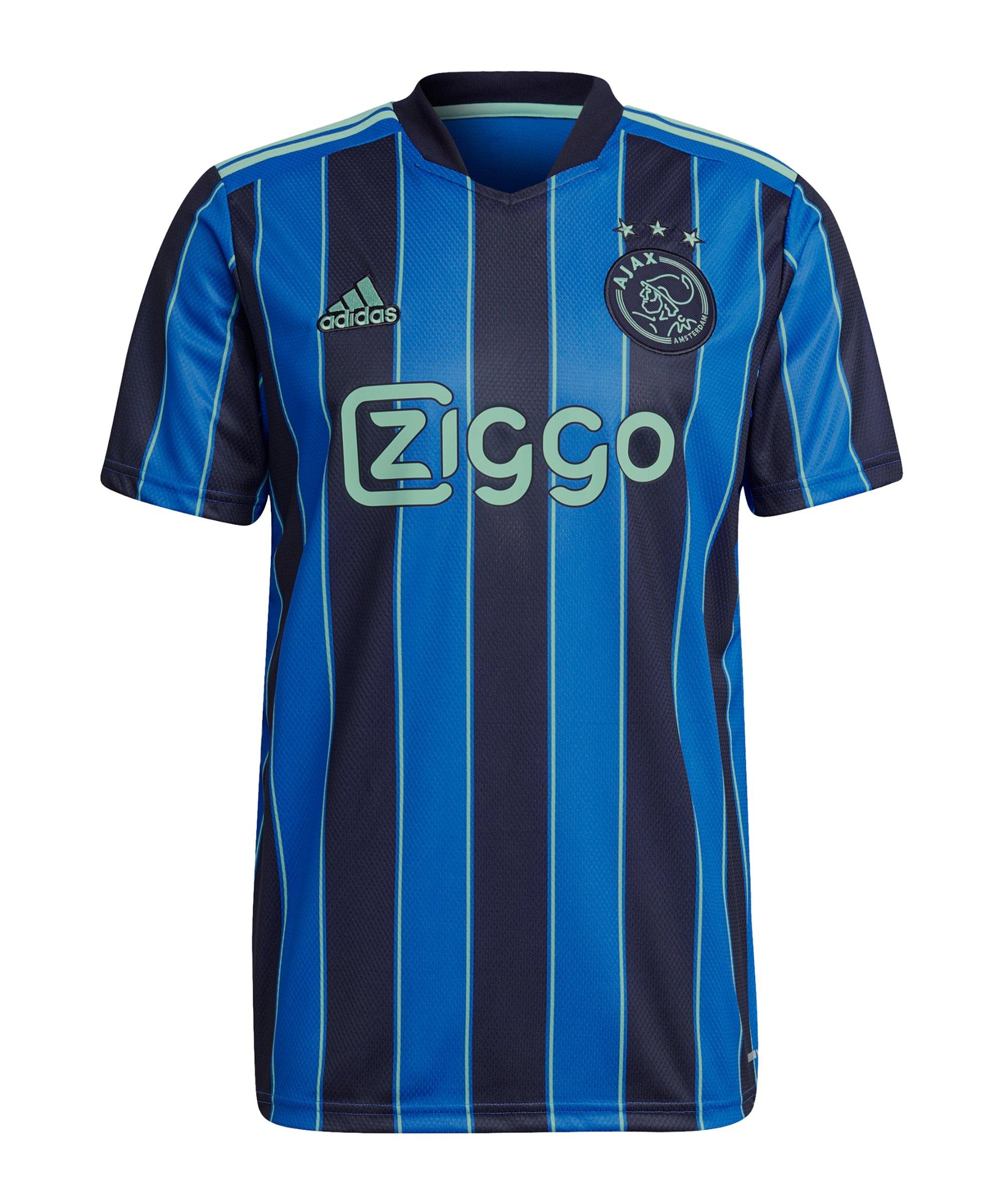 adidas Ajax Amsterdam Trikot Away 2021/2022 Blau - blau
