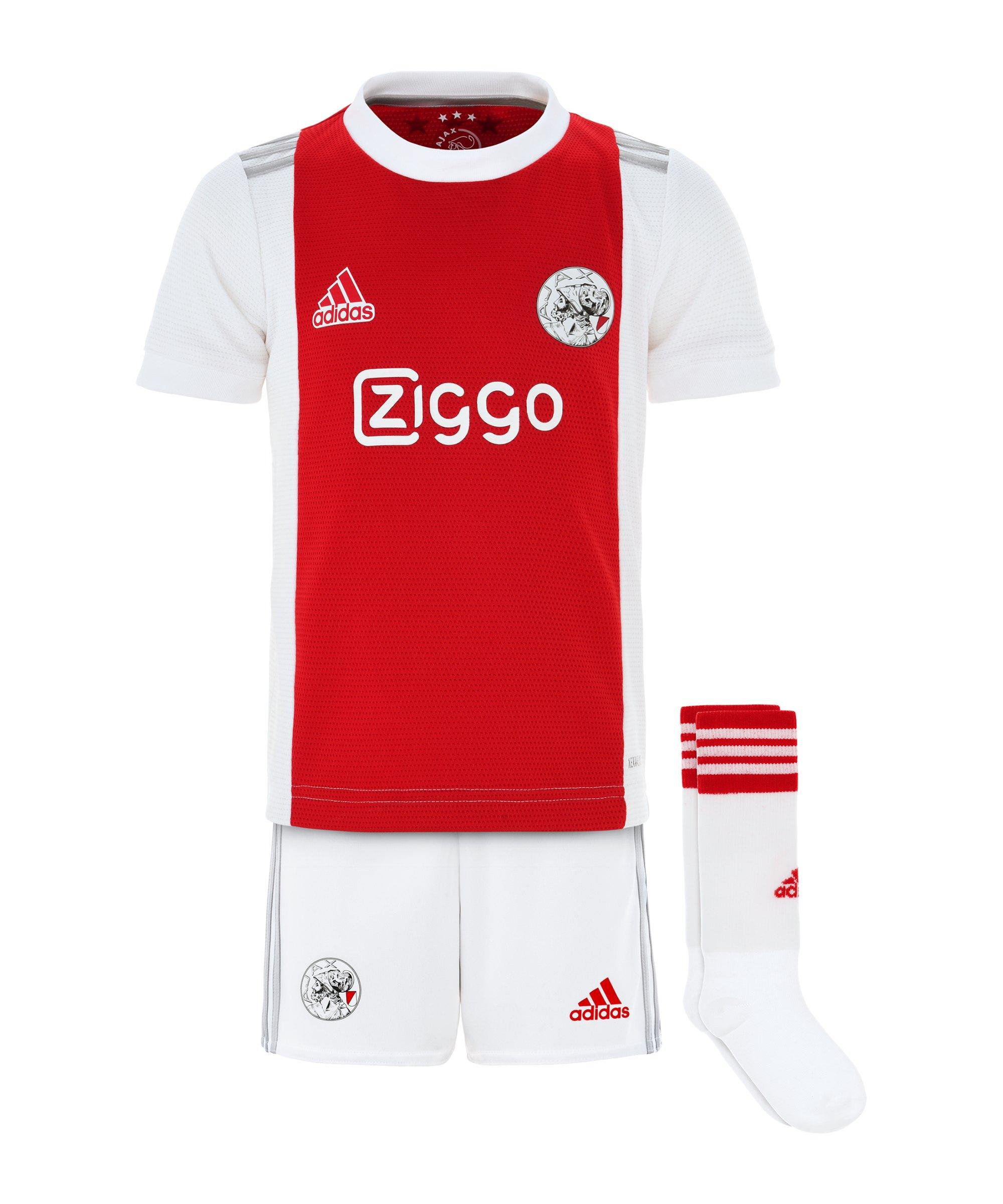 adidas Ajax Amsterdam Minikit Home 2021/2022 Weiss - weiss