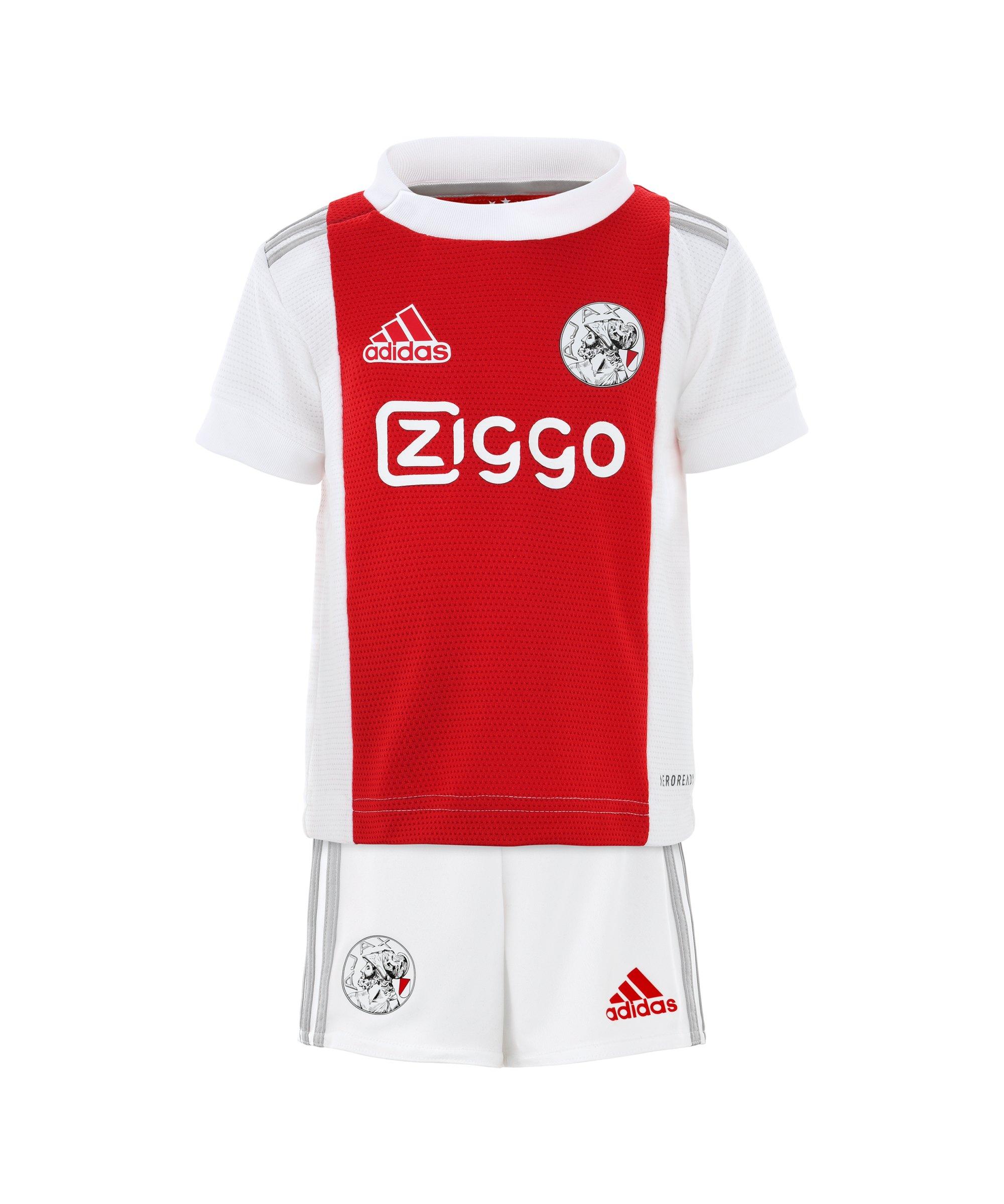 adidas Ajax Amsterdam Babykit Home 2021/2022 Weiss - weiss