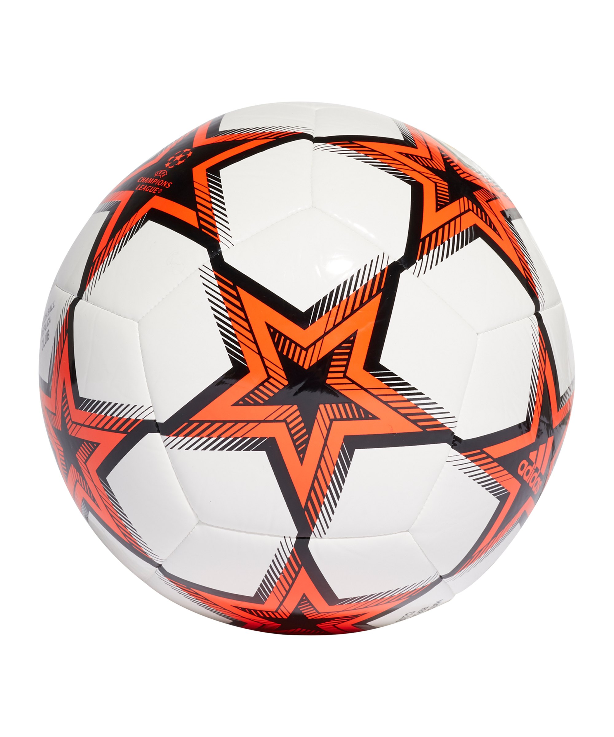 adidas UCL Finale 21 Club Spielball Weiss - weiss