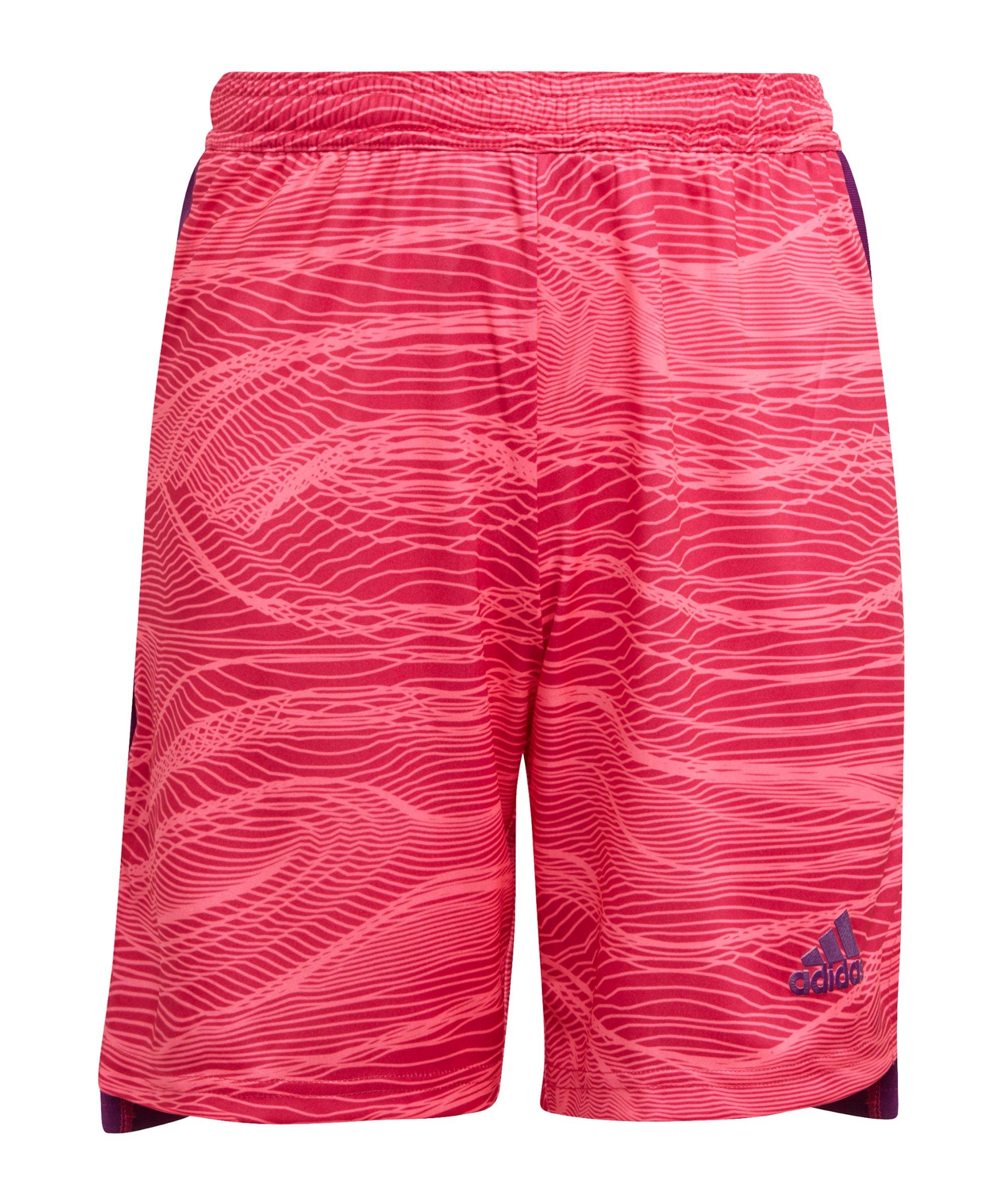 adidas Condivo 21 Torwartshort Kids Pink - pink