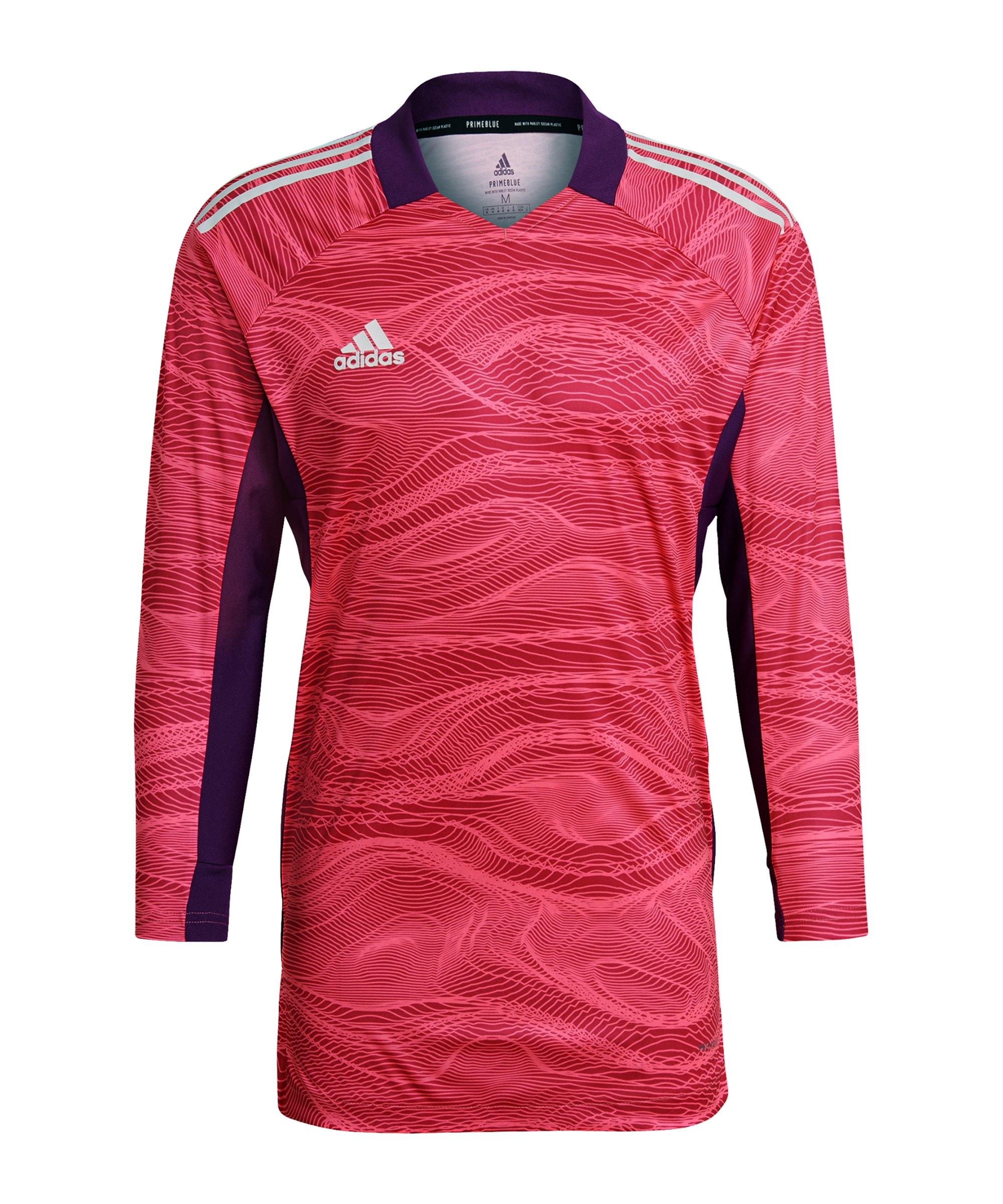 adidas Condivo 21 Torwarttrikot langarm Pink - pink