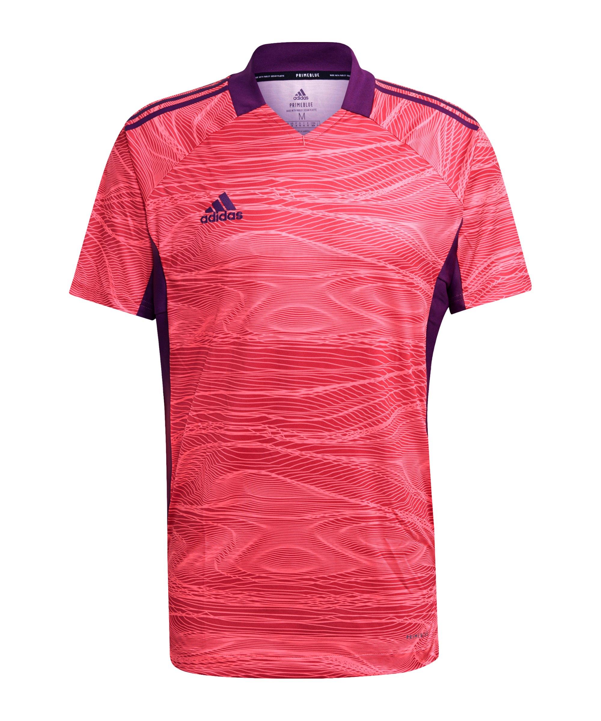 adidas Condivo 21 Torwarttrikot Pink - pink