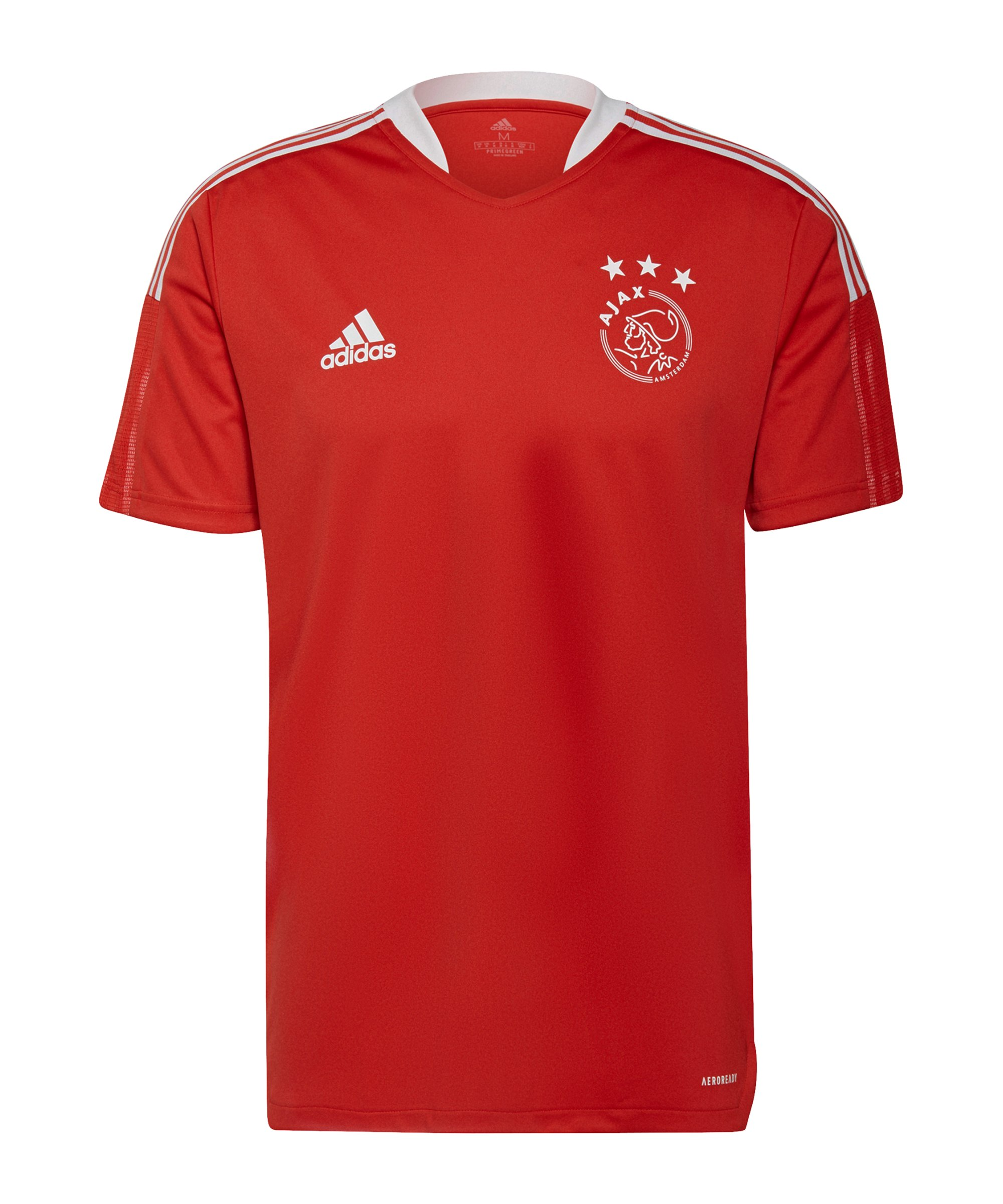 adidas Ajax Amsterdam Trainingsshirt Rot - rot