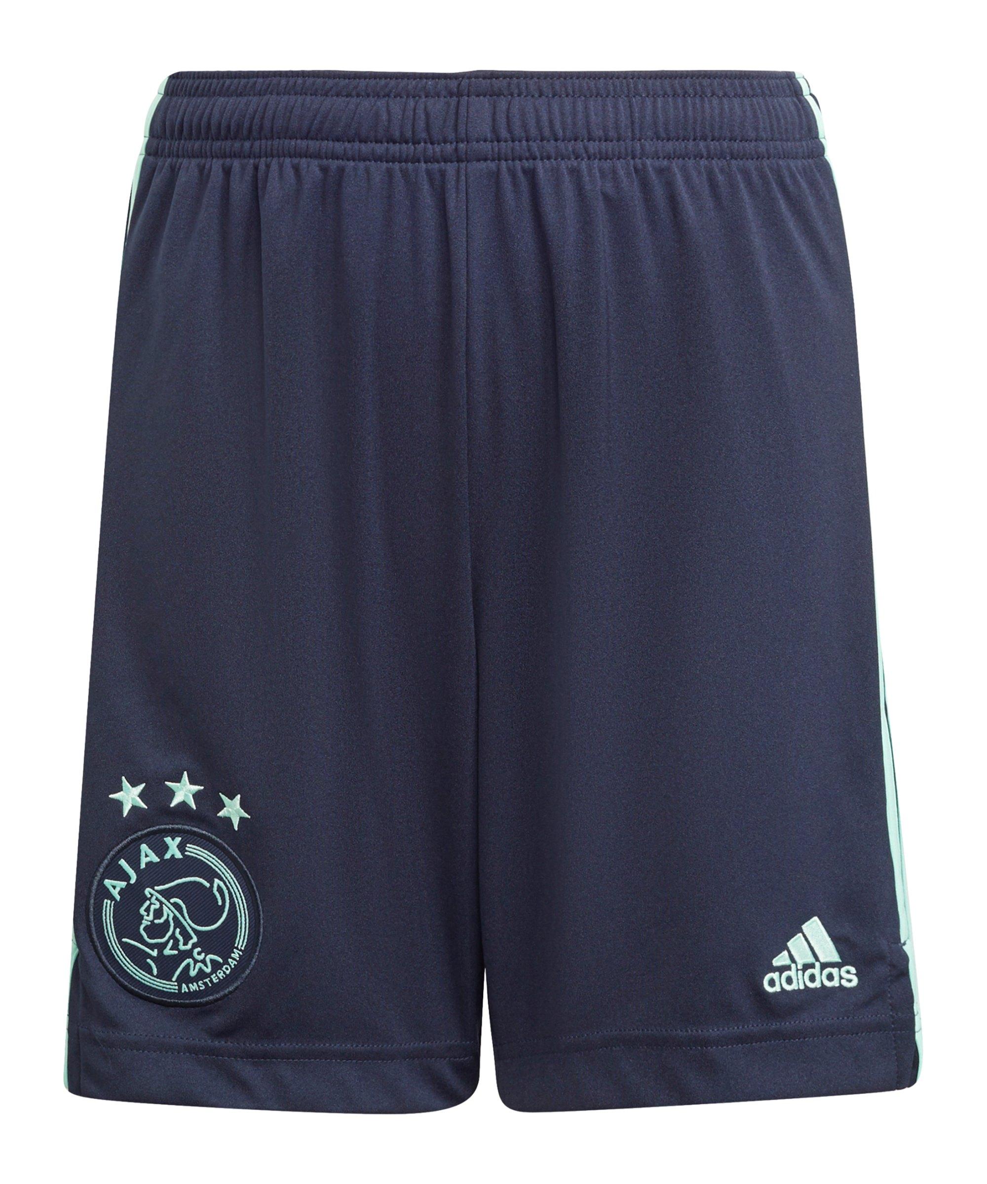 adidas Ajax Amsterdam Short Away 2021/2022 Blau - blau