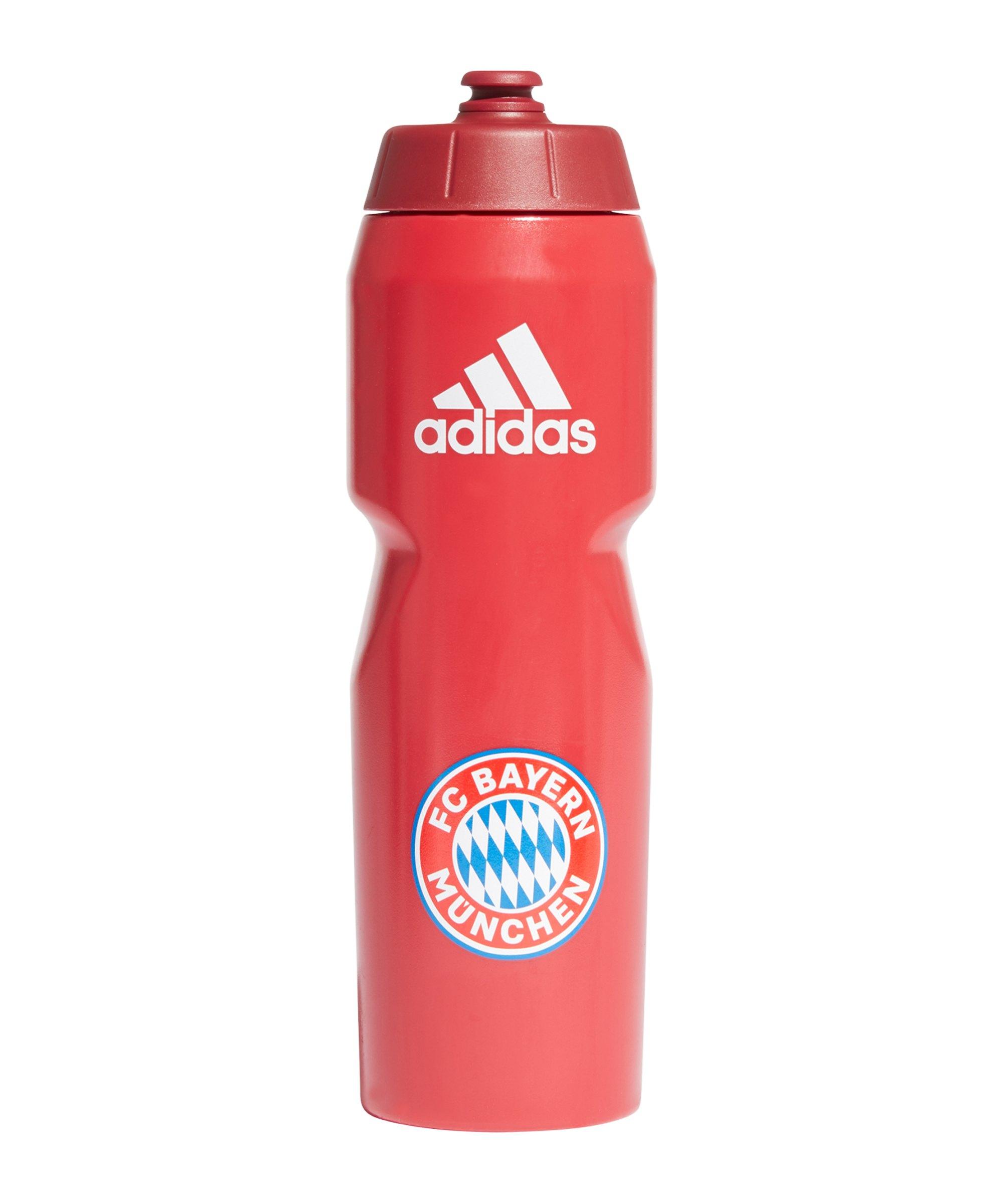 adidas FC Bayern München Trinkflasche Rot - rot