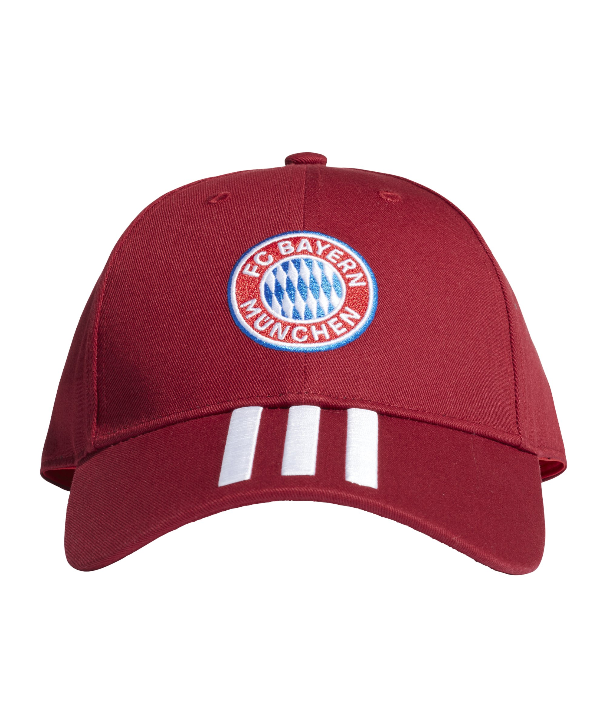 adidas FC Bayern München BB Cap Rot - rot