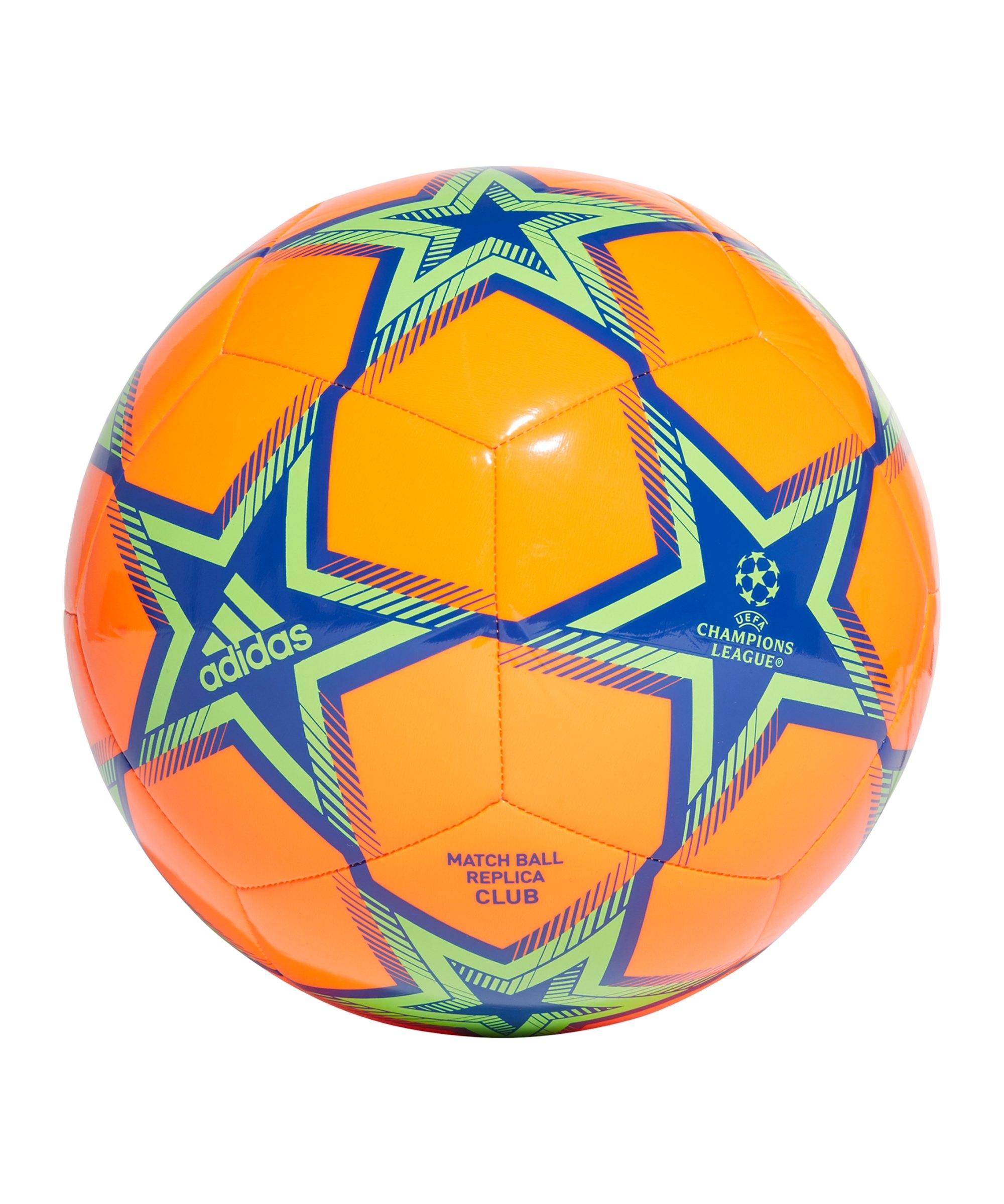 adidas UCL CLB Trainingsball Orange - orange