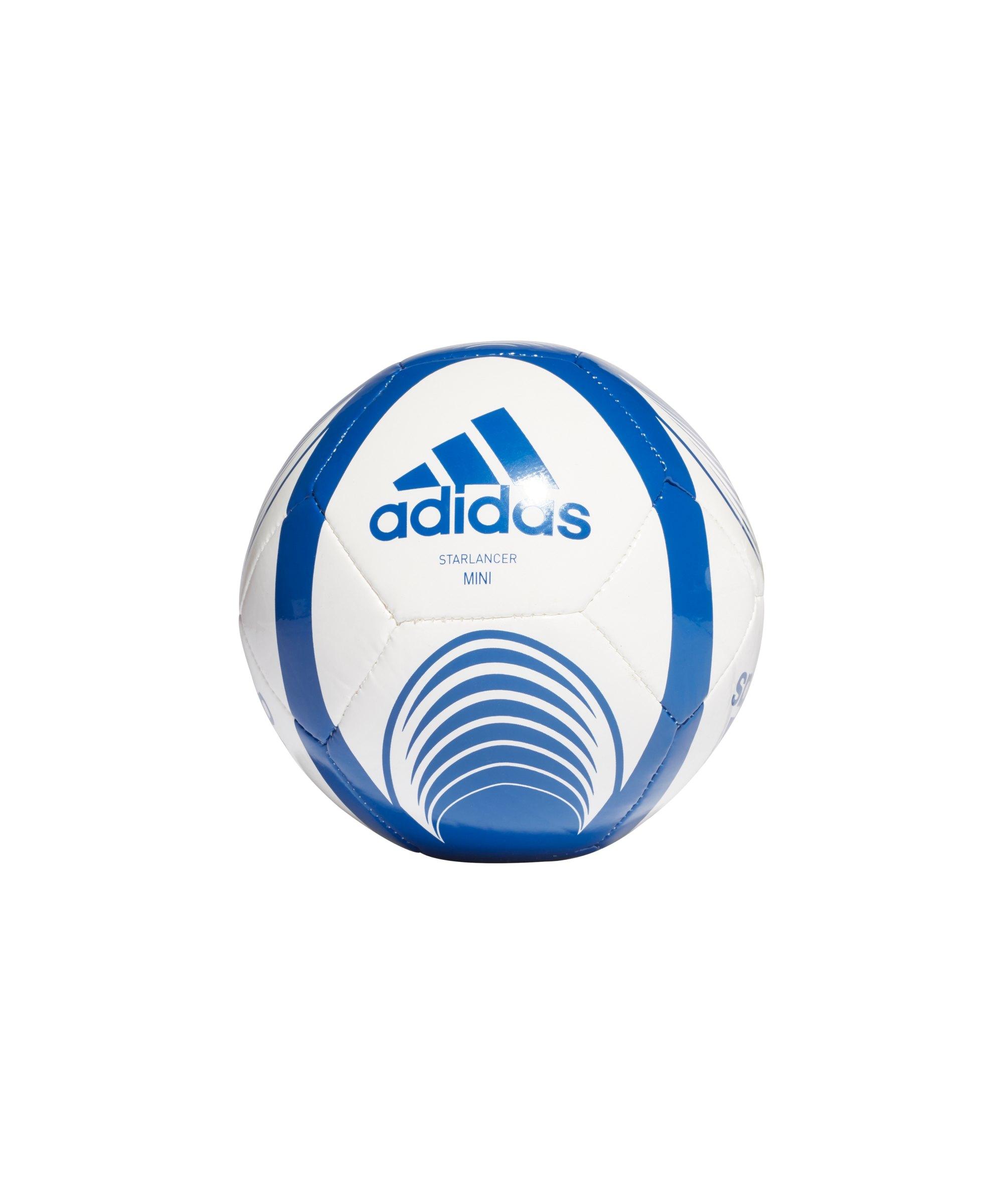 adidas Starlancer Miniball Weiss Blau - weiss